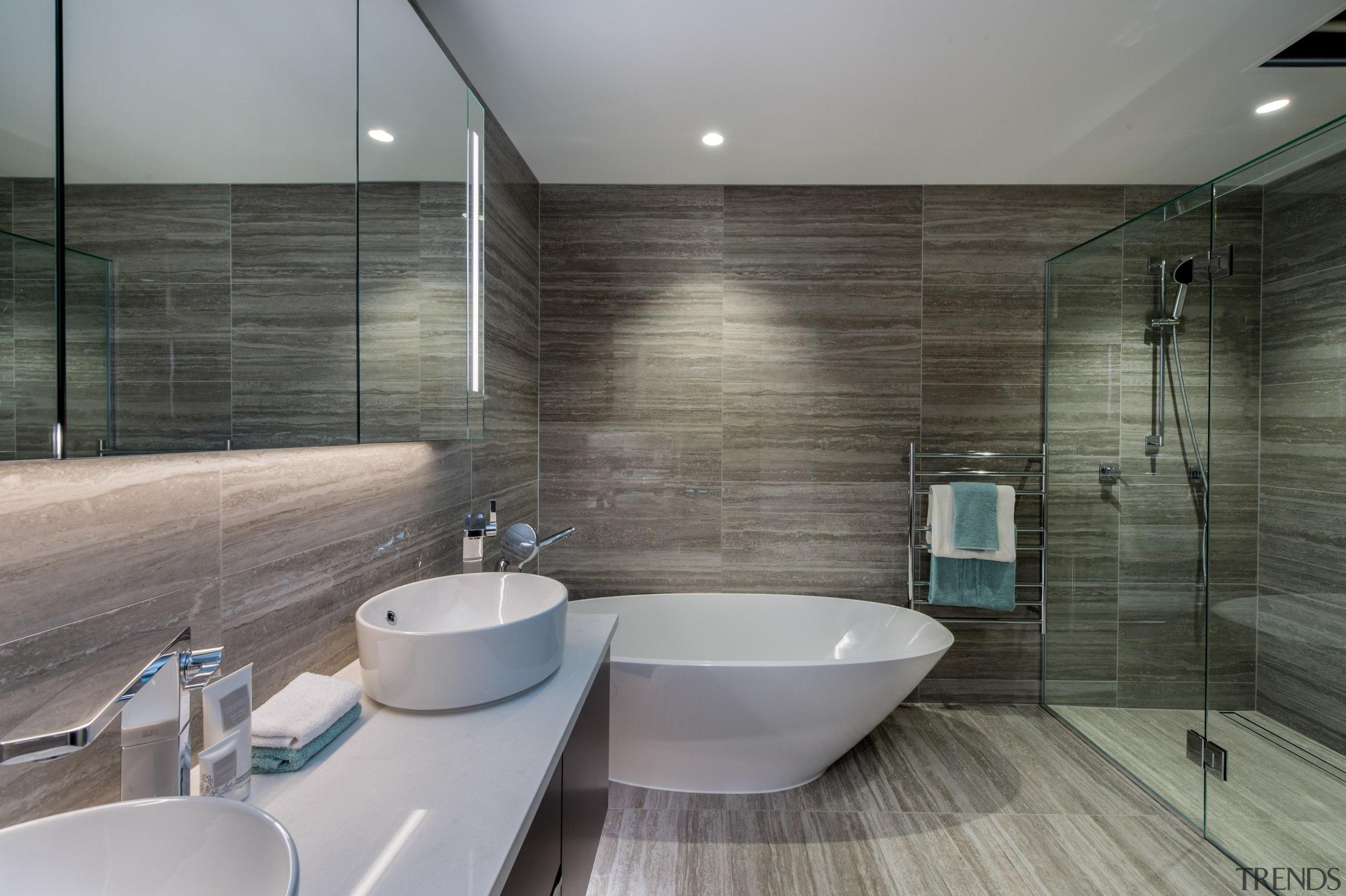 Marble bathroom - Marble bathroom - architecture   architecture, bathroom, floor, interior design, room, tile, gray, black