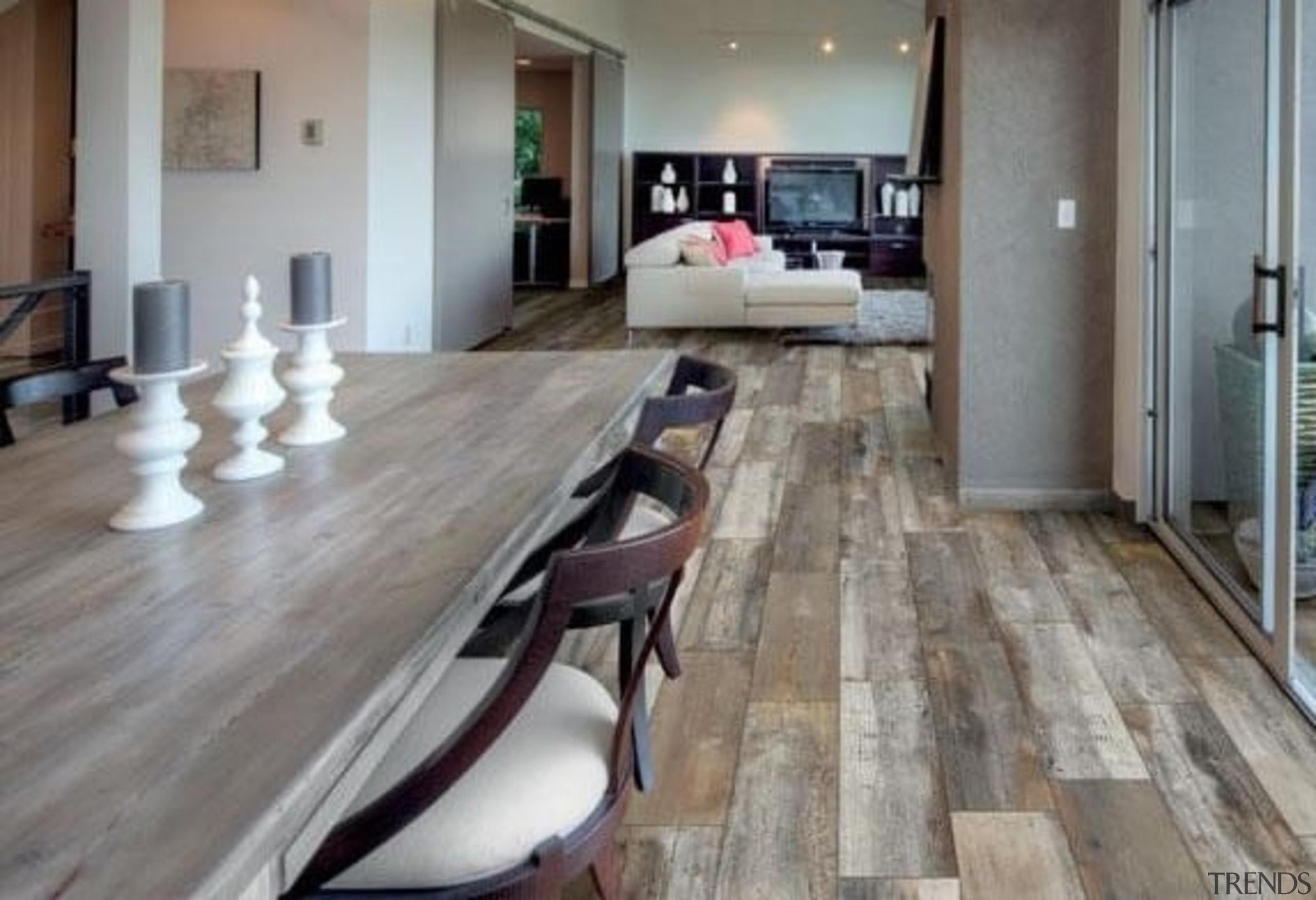 Super flexible, self-levelling floor tiles, available in 270x1630mm floor, flooring, hardwood, interior design, laminate flooring, property, tile, wood, wood flooring, gray