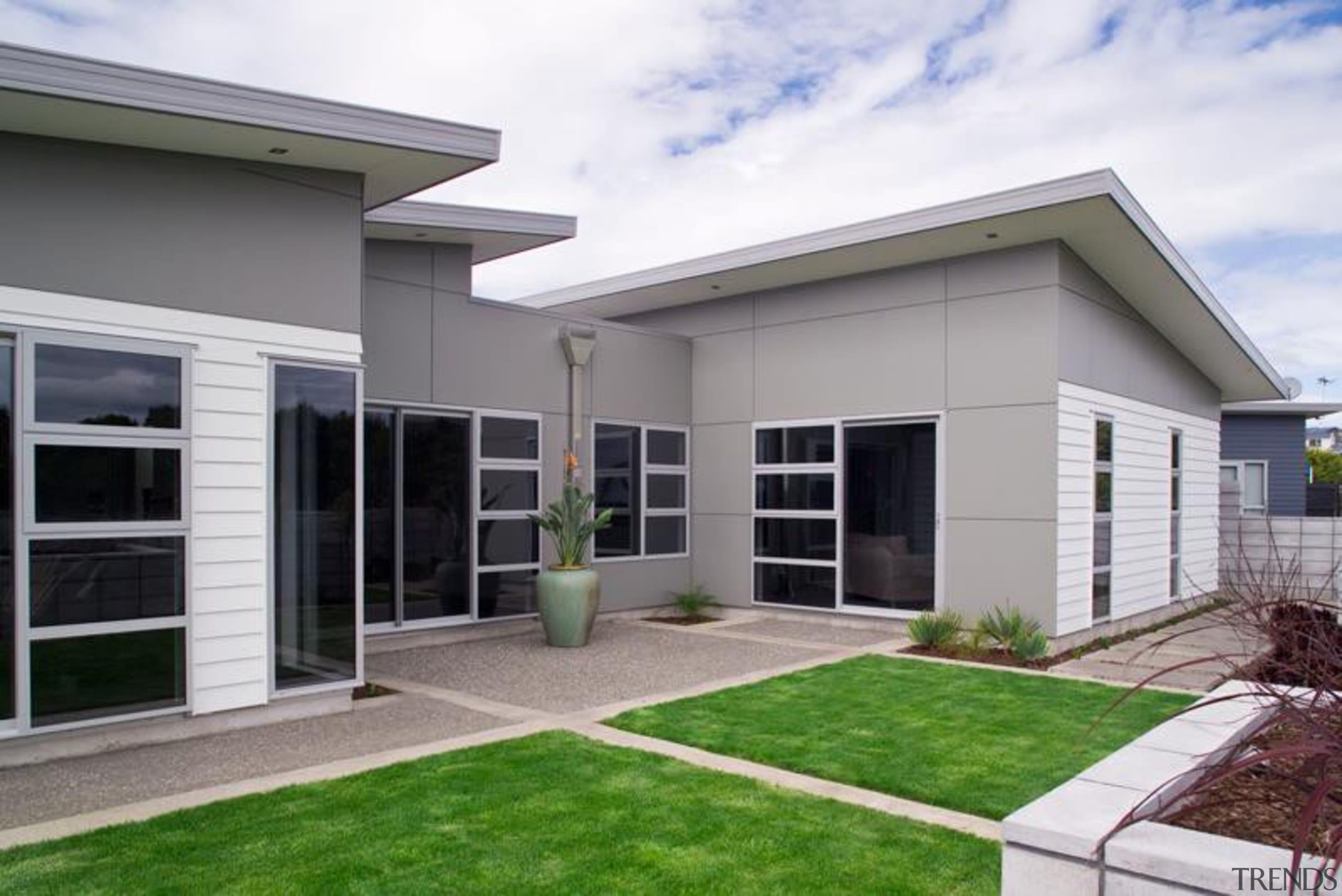 Titan Facade Panel - Titan Facade Panel - architecture, elevation, estate, facade, home, house, property, real estate, residential area, siding, window, gray, white