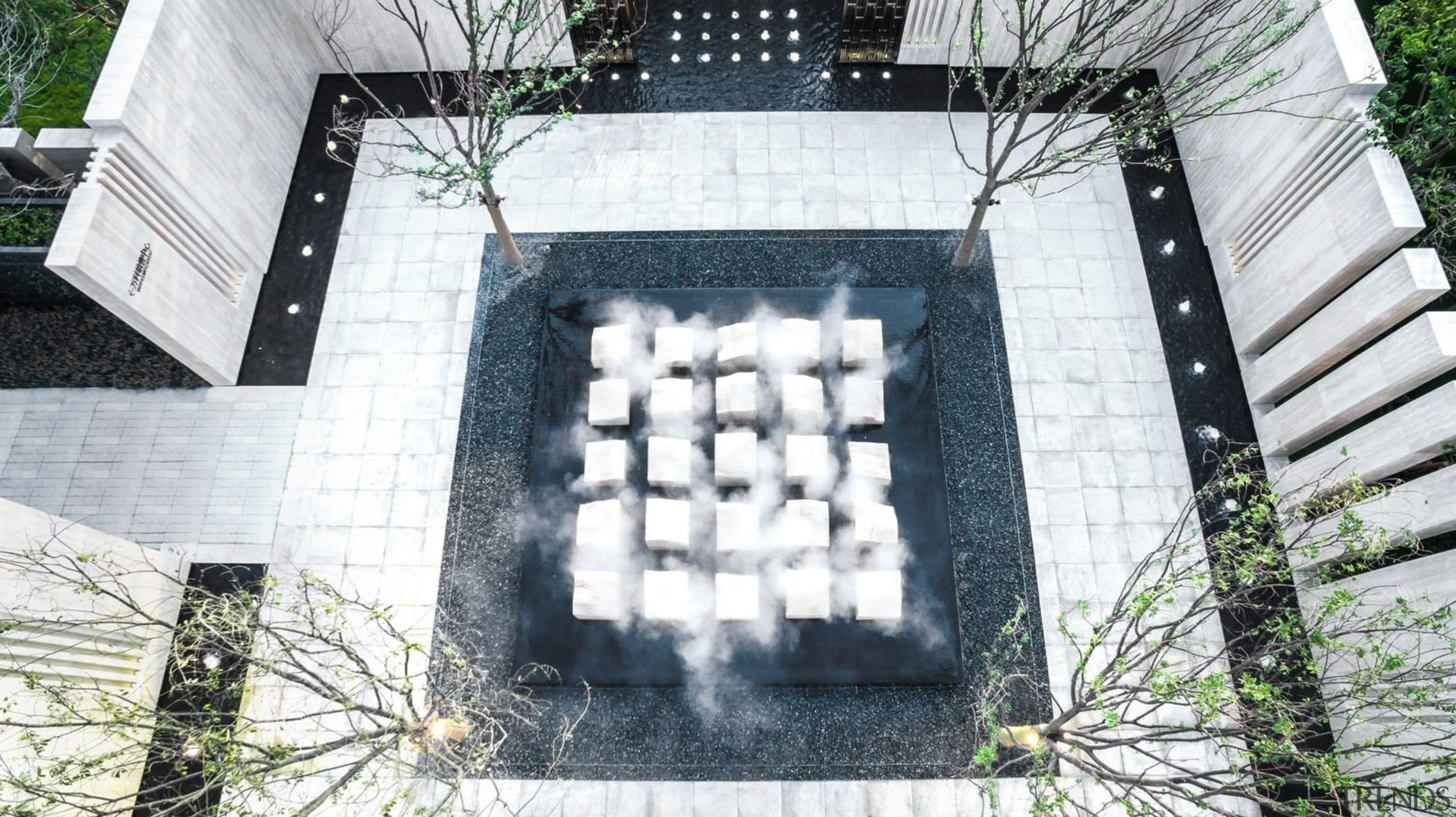 Vanke Park Mansion 'True Love' – FLOscape Landscape architecture, building, house, white
