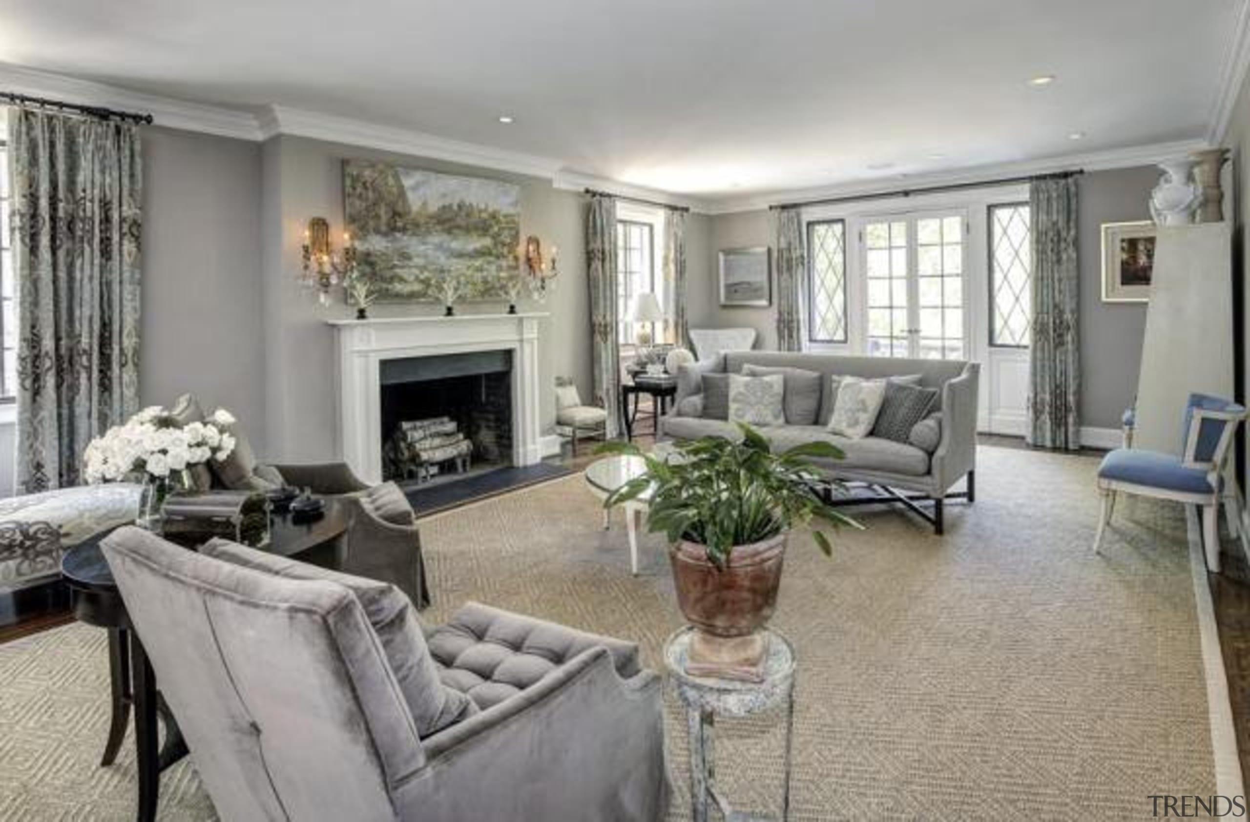 Original story from Trulia home, interior design, living room, property, real estate, room, gray