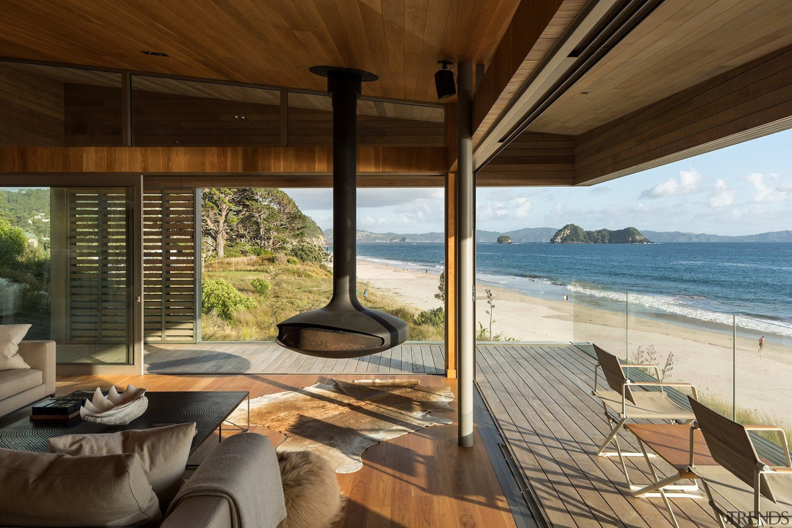 Studio2 Architects architecture, estate, home, house, interior design, living room, property, real estate, wood, brown