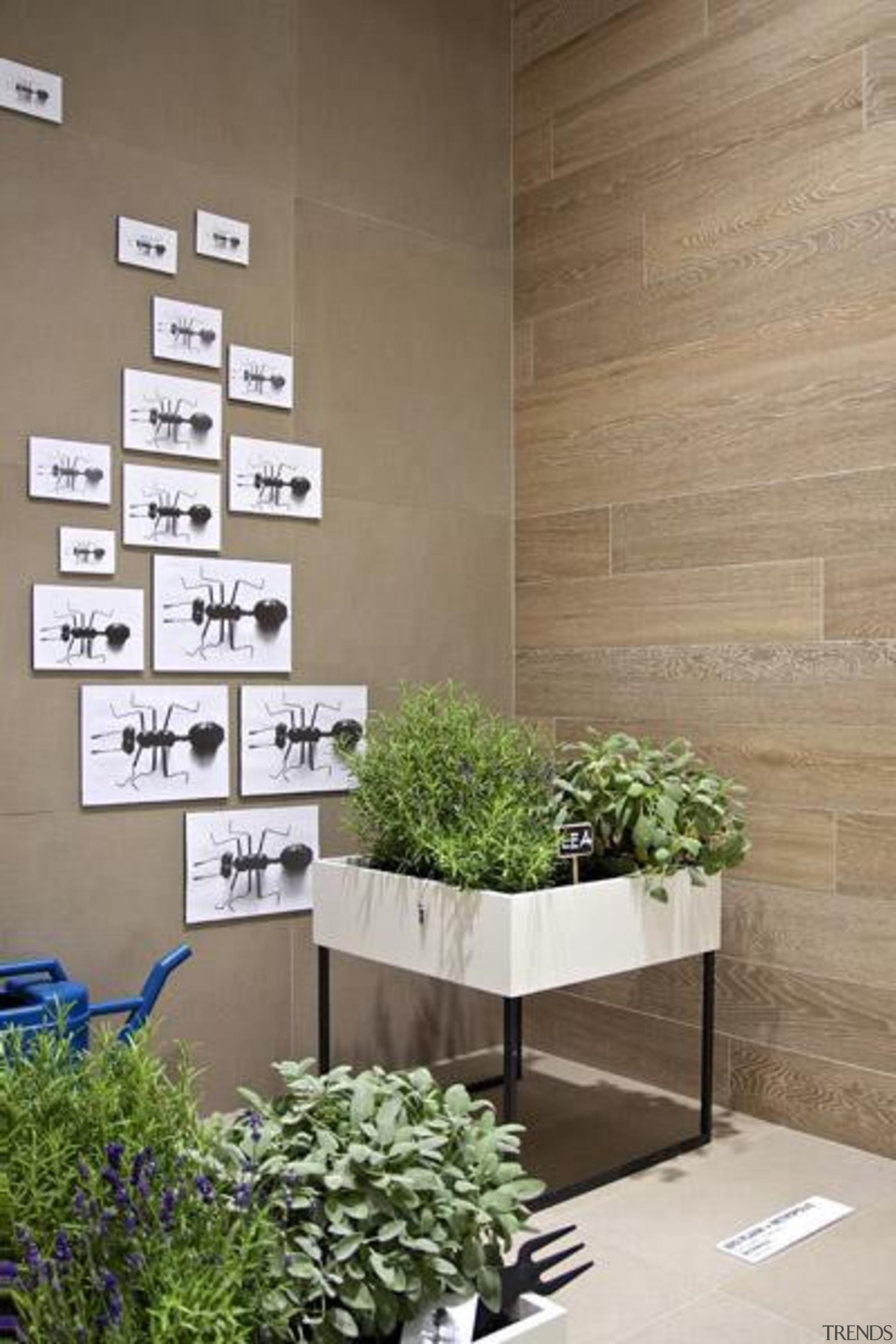 Bioplank noisette wall tiles. - Bioplank - flowerpot flowerpot, home, interior design, wall, brown, gray