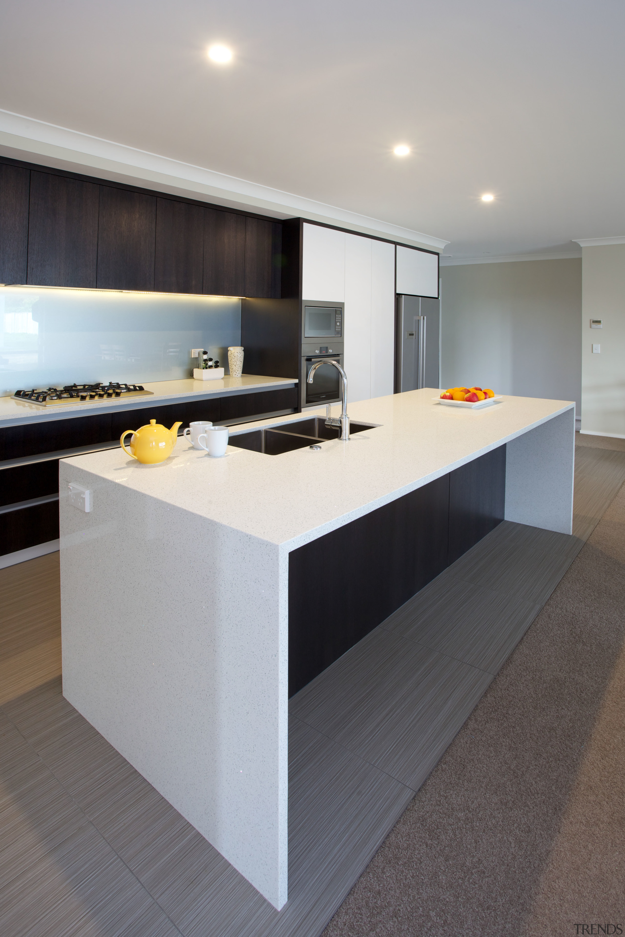 The cabinets in this kitchen by Arcadia Joinery architecture, countertop, interior design, kitchen, real estate, gray