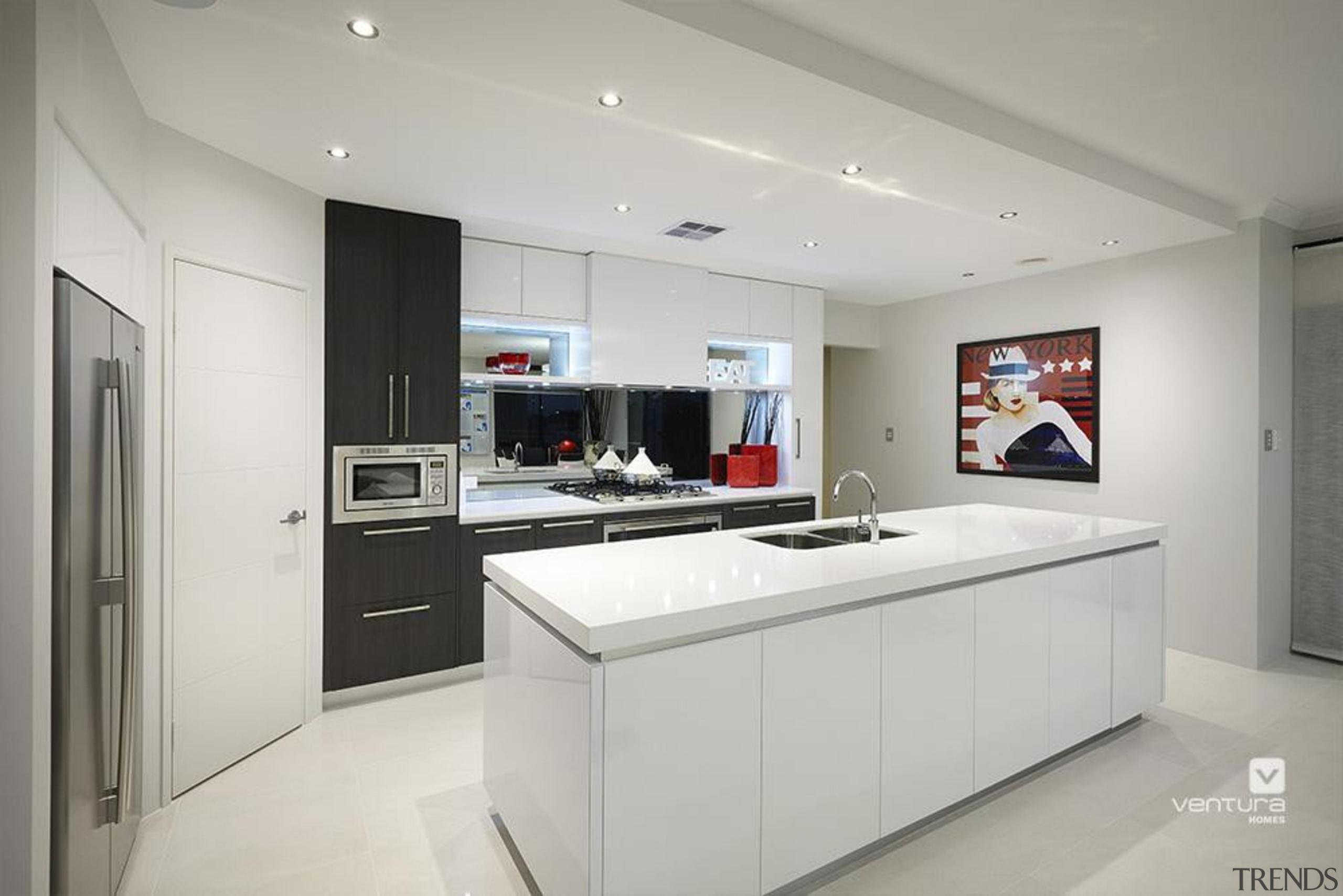 Kitchen design. - The Montrose Display Home - cabinetry, countertop, cuisine classique, interior design, kitchen, real estate, room, gray