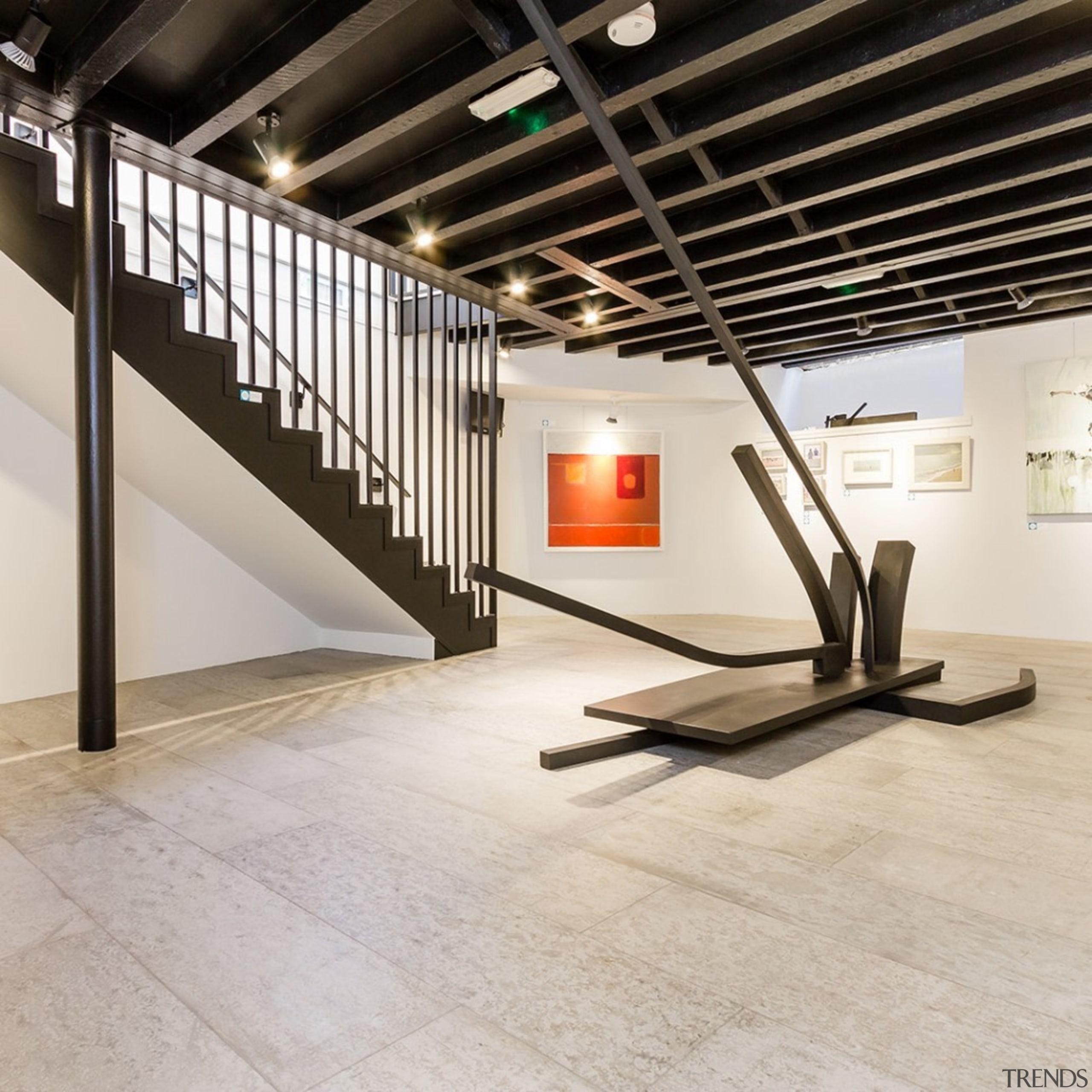 Concreate CF103 3 - Concreate_CF103_3 - floor | floor, flooring, interior design, product design, tile, wood flooring, gray, black