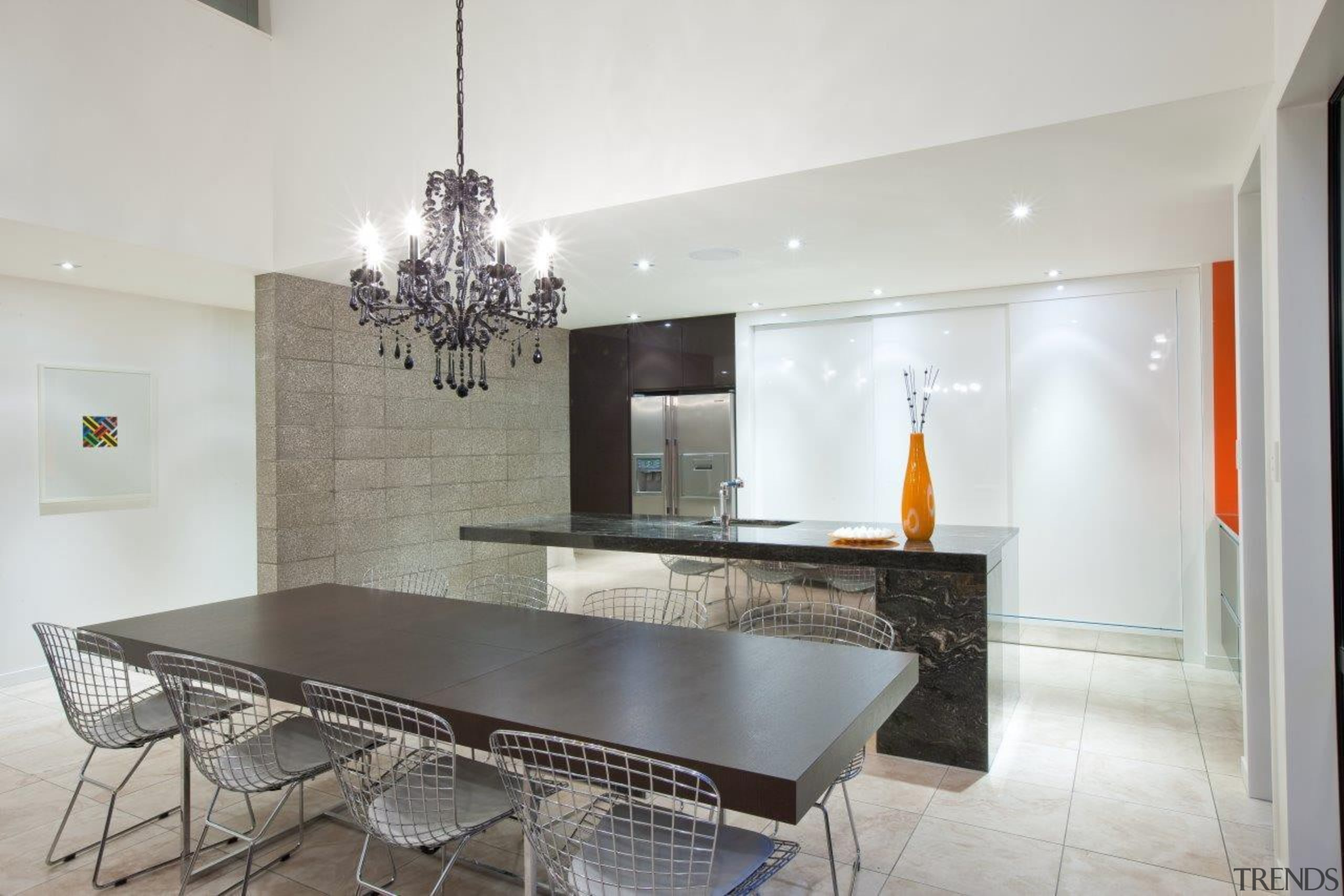 wellingtong kitchen 3.jpg - wellingtong_kitchen_3.jpg - ceiling | ceiling, countertop, dining room, interior design, kitchen, property, real estate, table, gray, white