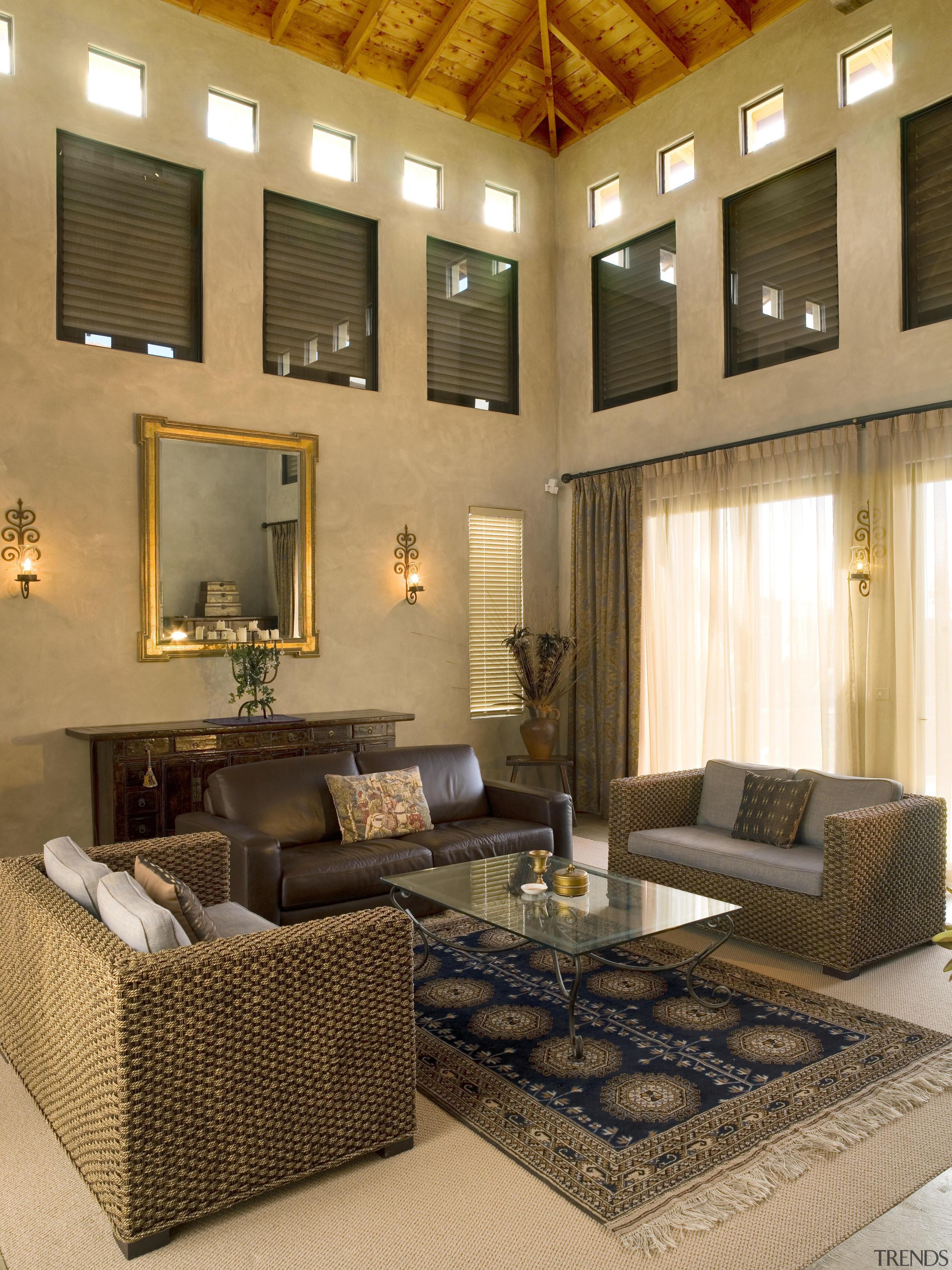 172mangawhai 15 - mangawhai_15 - ceiling   furniture ceiling, furniture, home, interior design, living room, room, wall, brown, orange