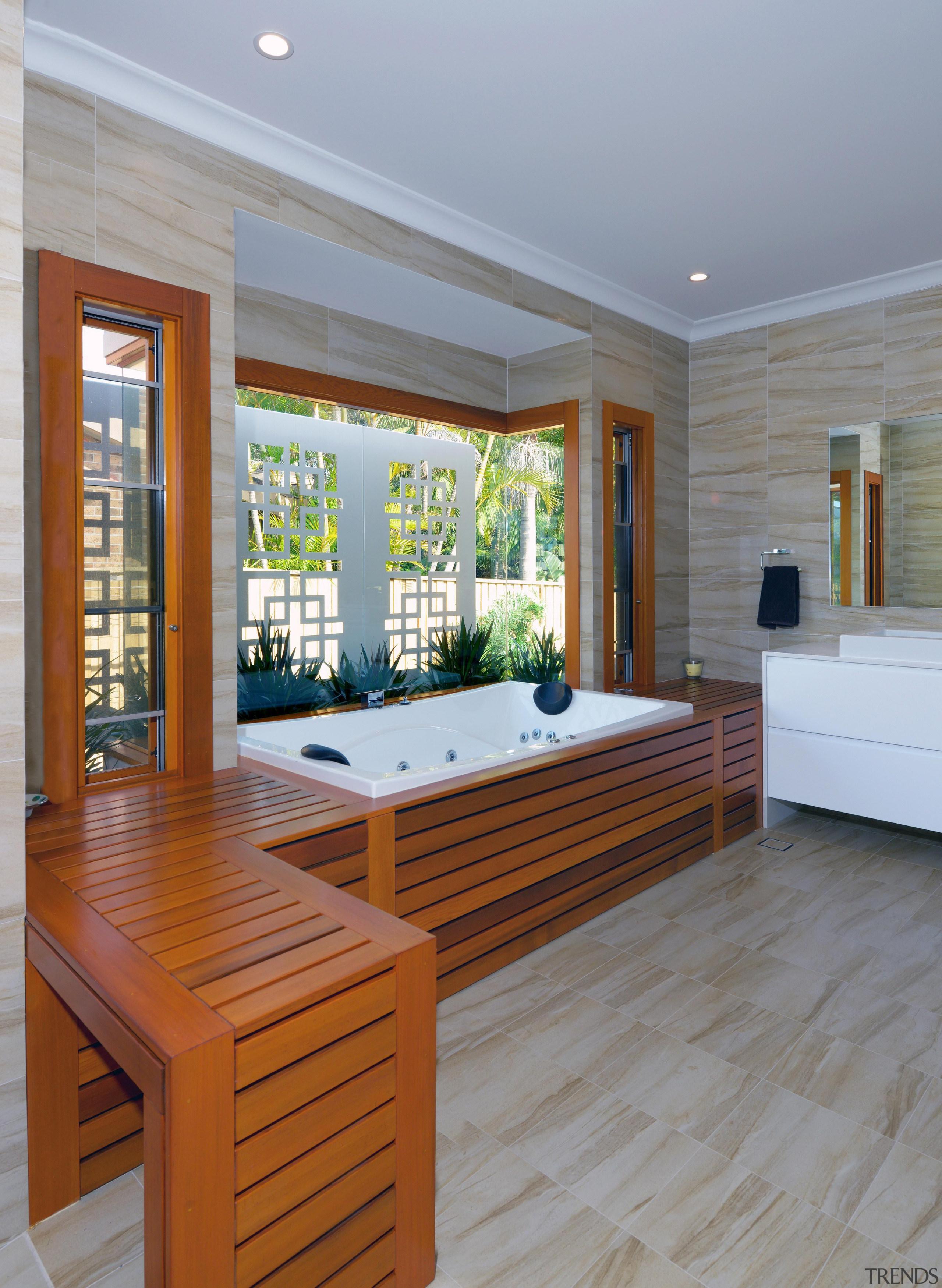 Winner Bathroom Design fo the Year 2013 Hunter ceiling, floor, flooring, hardwood, interior design, real estate, window, wood, wood flooring, gray