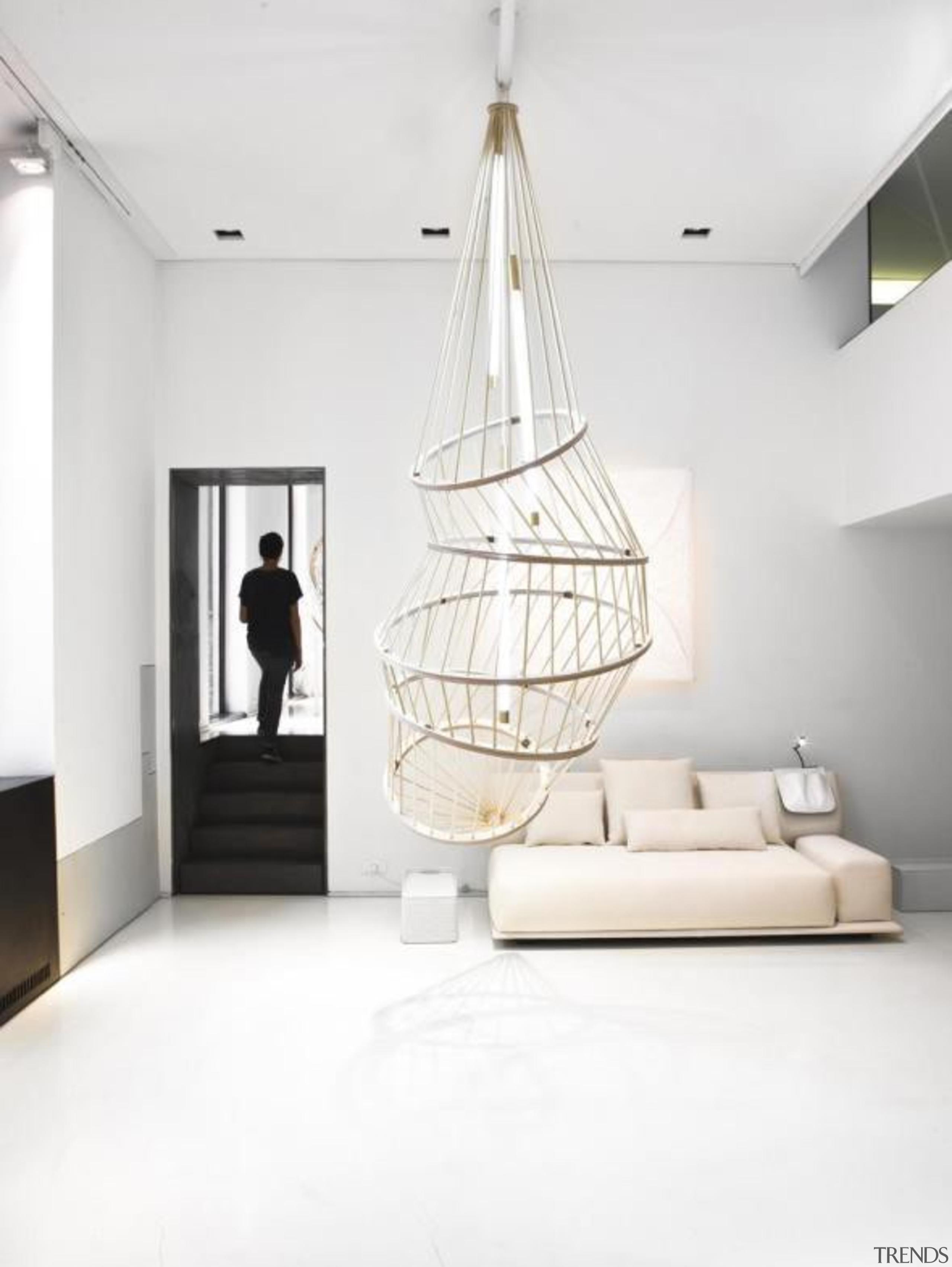 Constance Guisset for Molteni & C: MO Lamp ceiling, floor, home, interior design, light fixture, product design, white