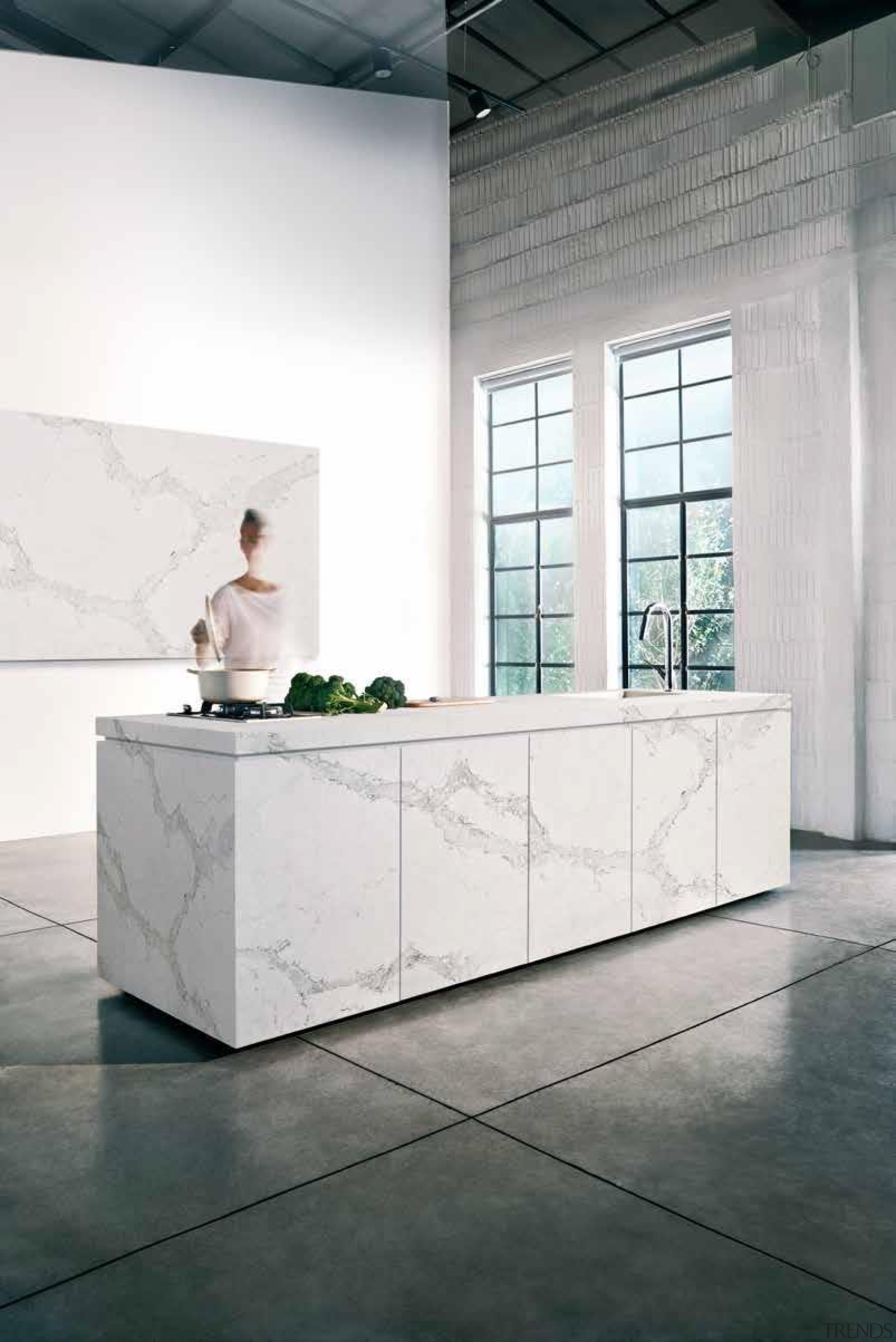 calacattaclassicfp11.jpg - calacattaclassicfp11.jpg - architecture | bathroom | architecture, bathroom, floor, flooring, furniture, interior design, product design, table, white, gray