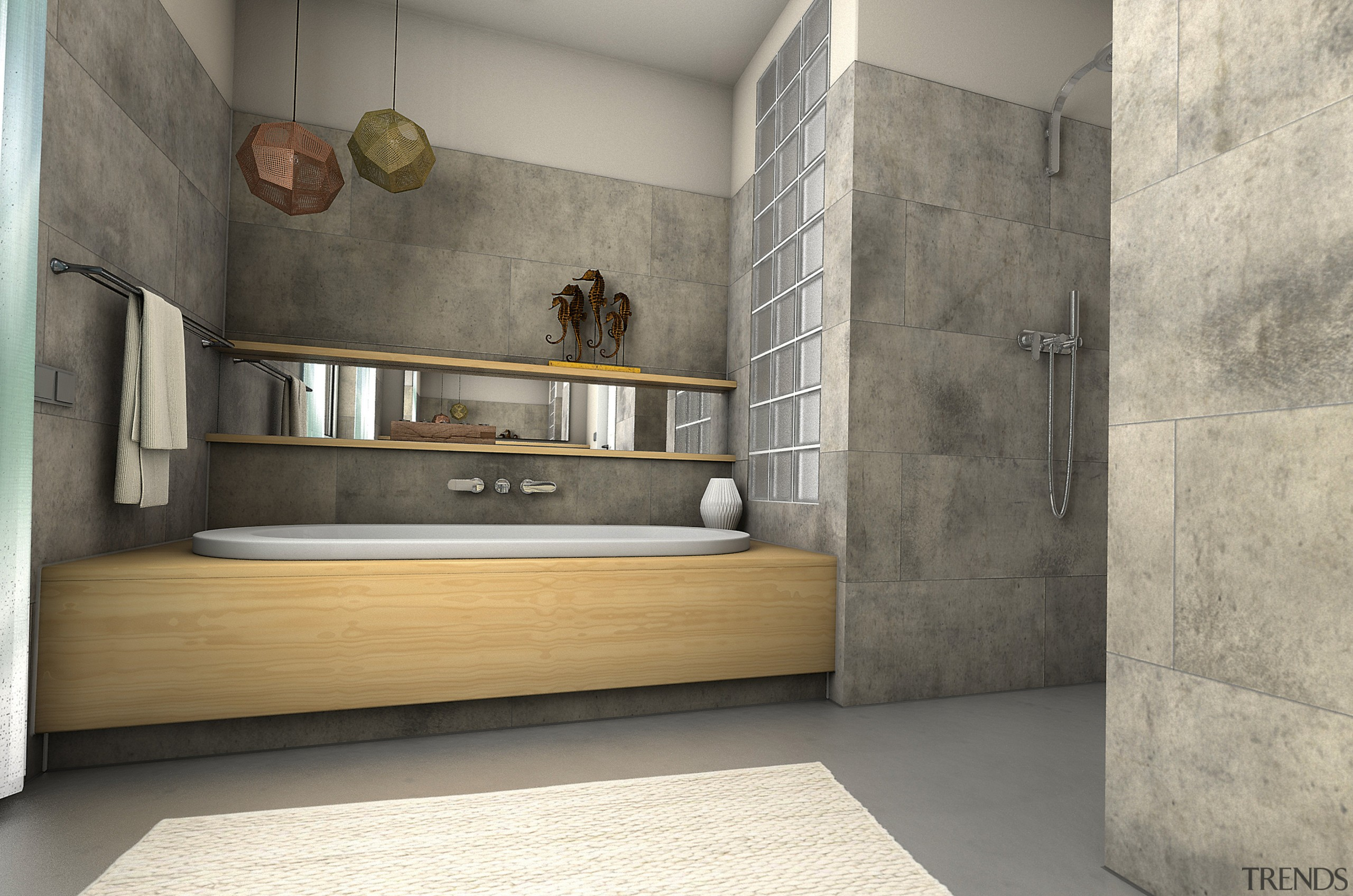 Ceramin Vario Tiles Were Glued Straight Over Exist Trends
