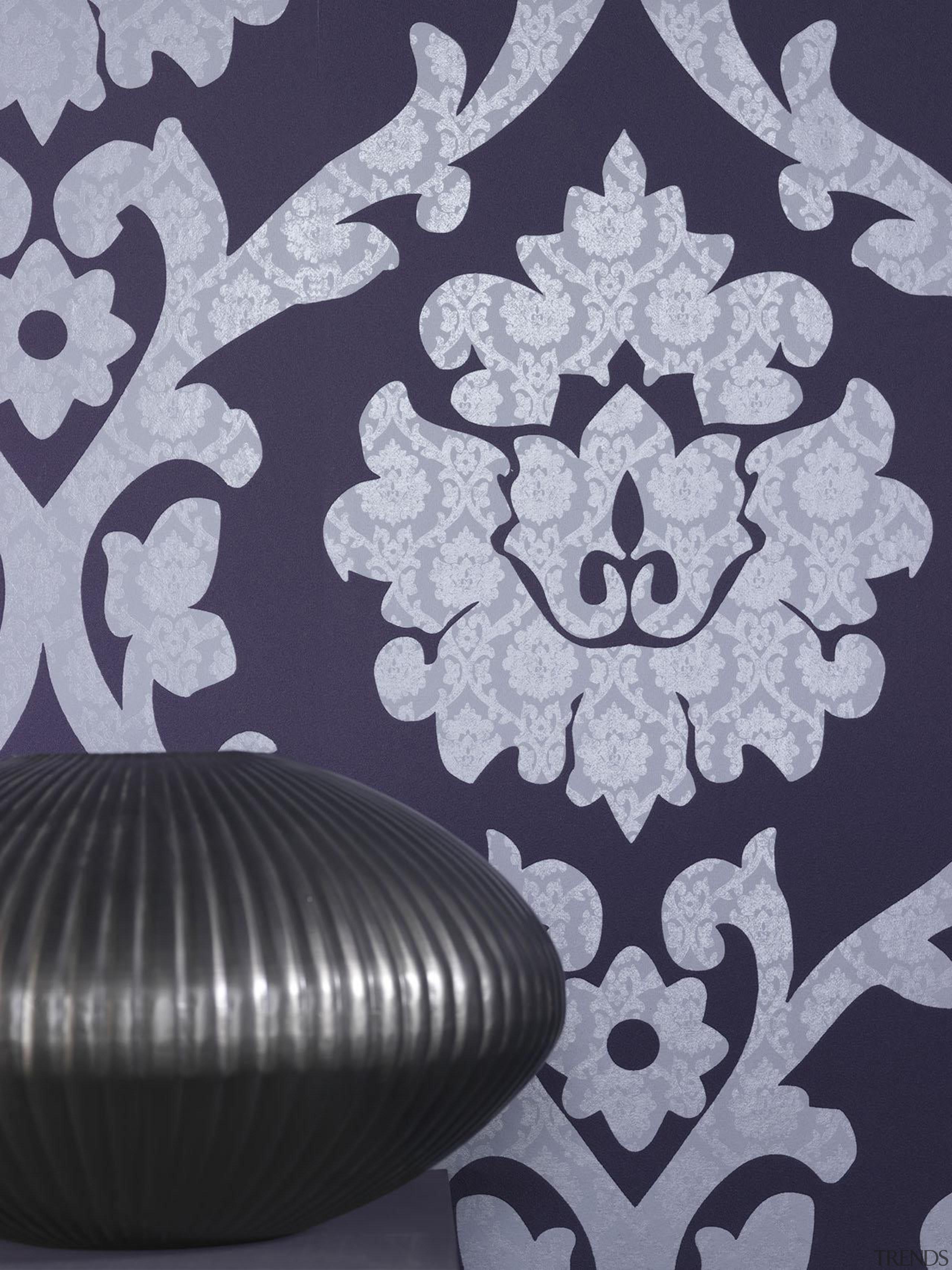 Brocante II Range - Brocante II Range - design, pattern, purple, wallpaper, gray, purple