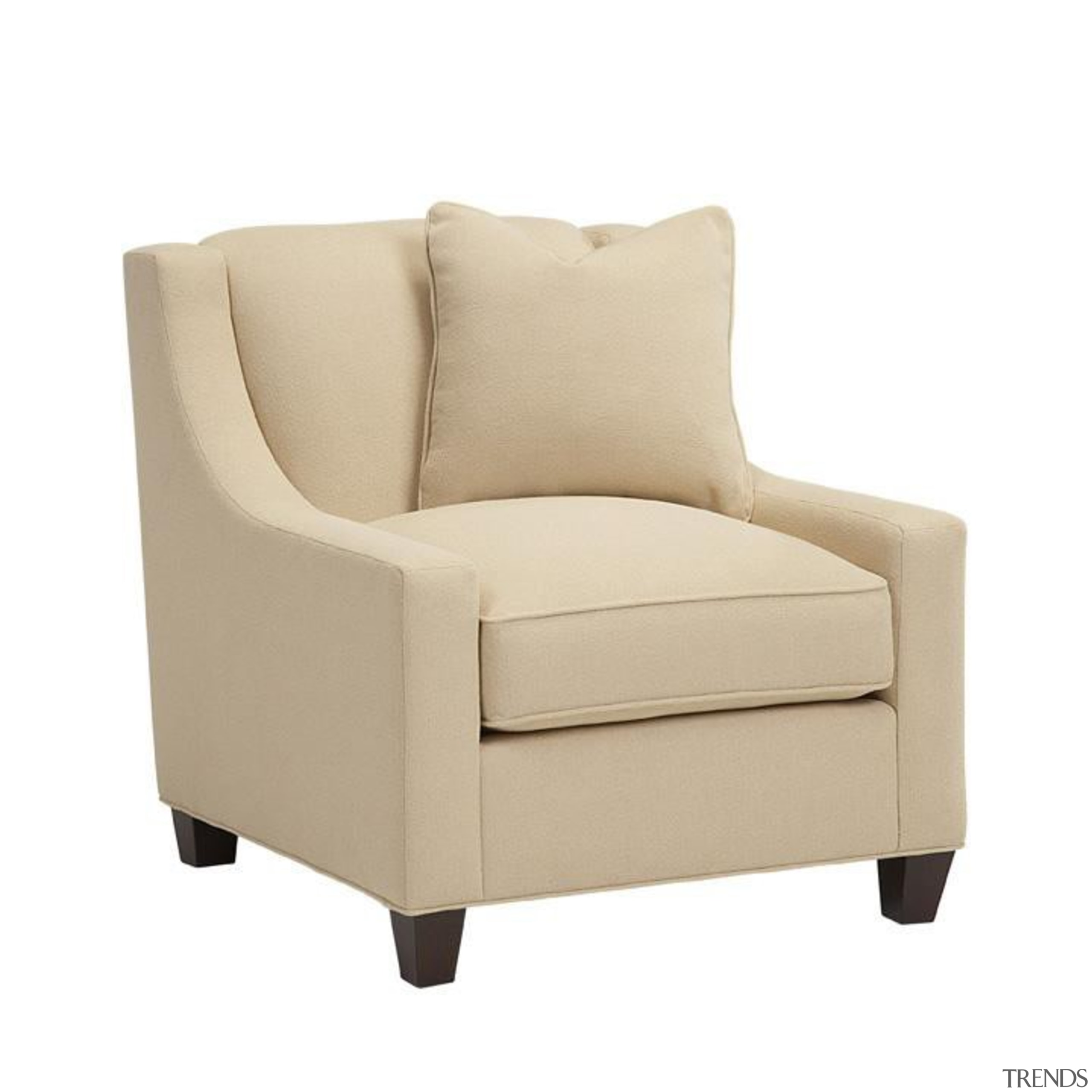 Designed to provide Baker style at unprecedented value, angle, beige, chair, club chair, couch, furniture, loveseat, outdoor sofa, product, product design, sleeper chair, white