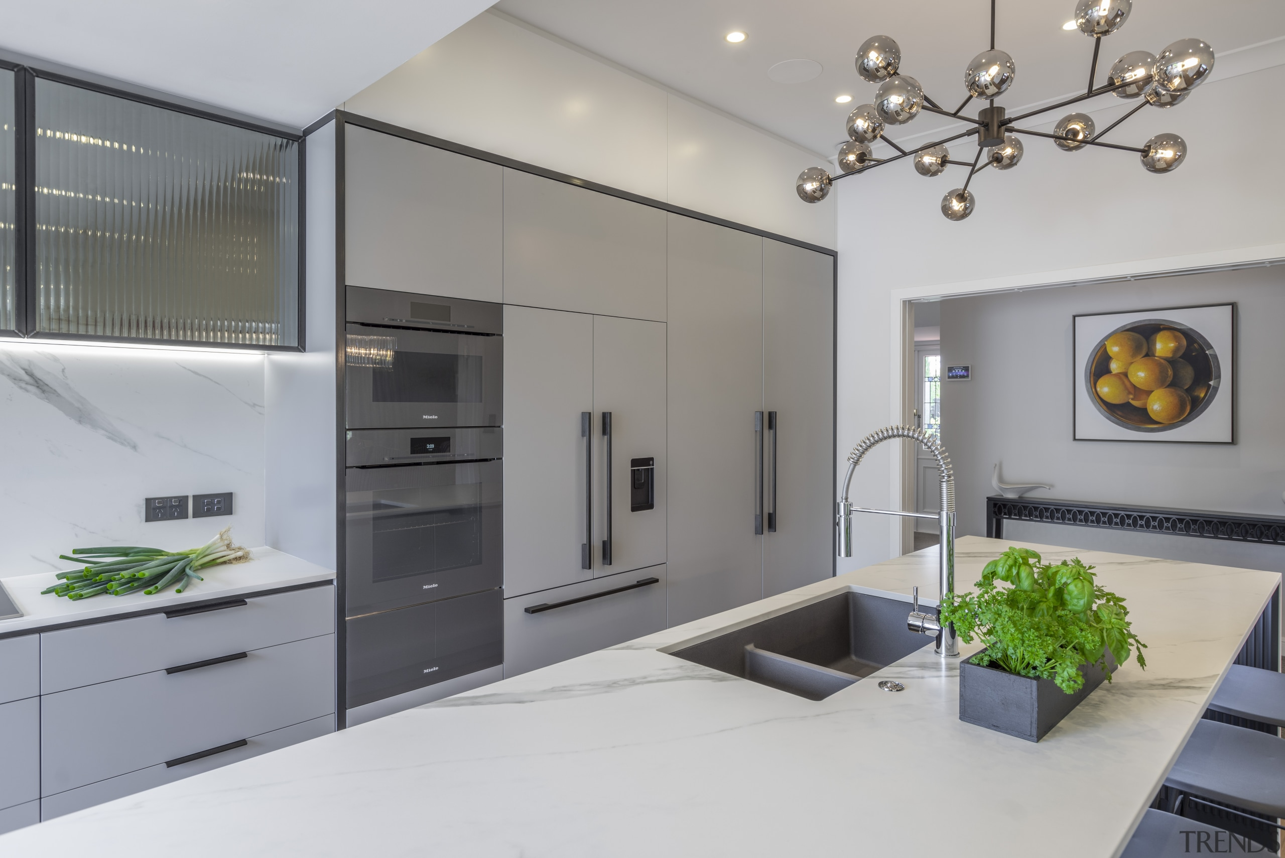 The soft lines and colour of the Dekton