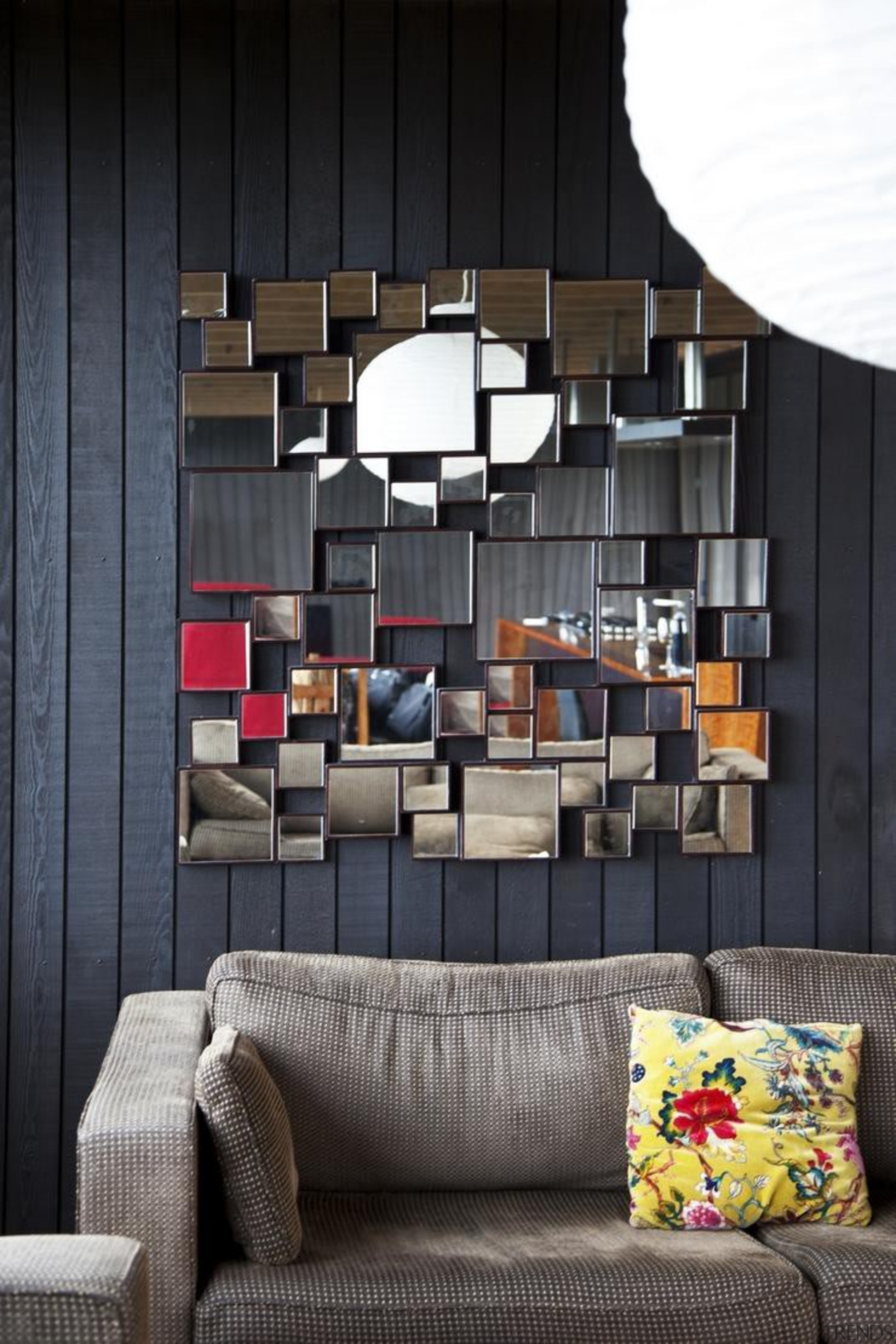 Leigh Bach - furniture   home   interior furniture, home, interior design, living room, shelving, table, wall, black