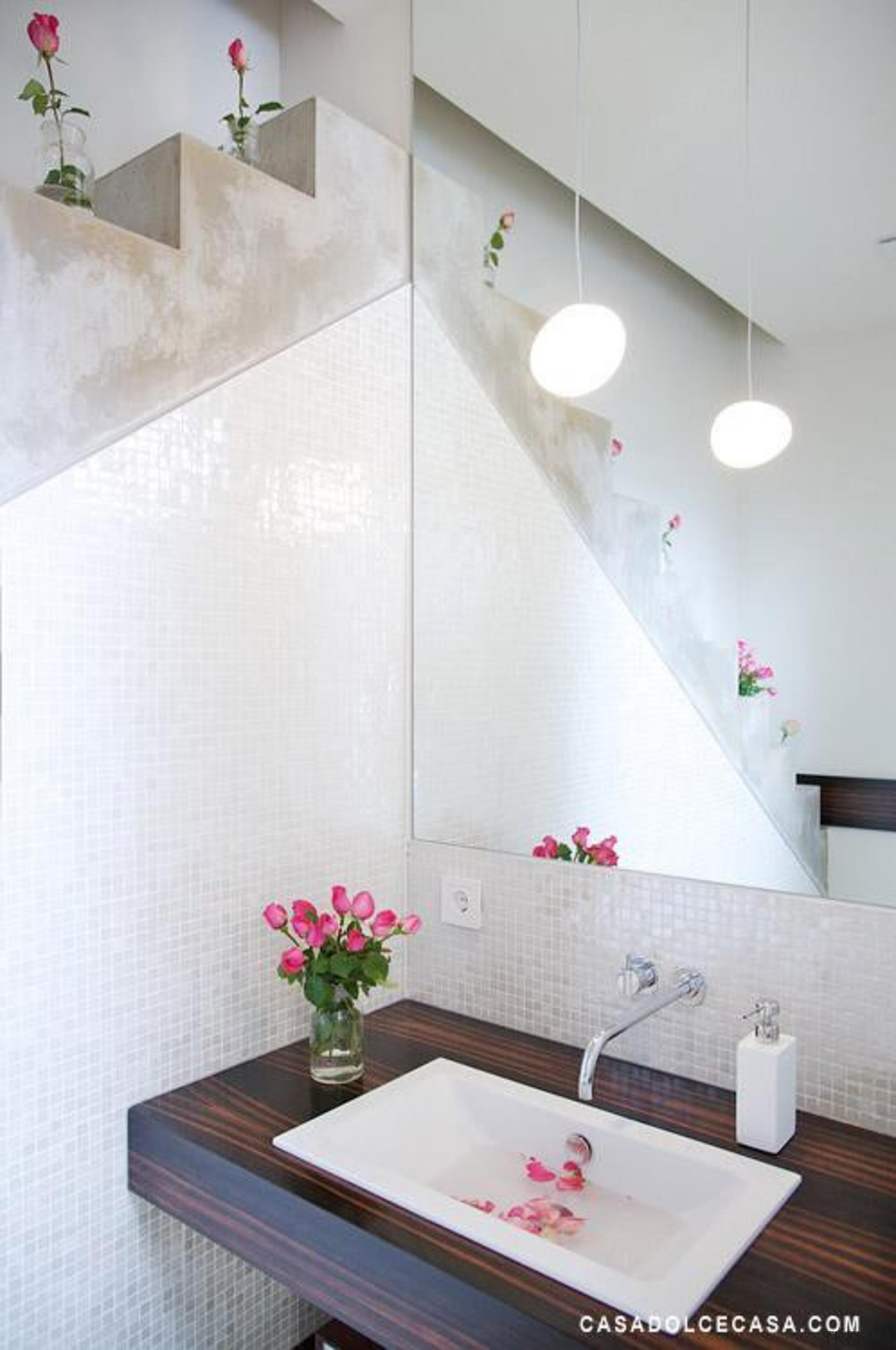 vetro bianco bathroom splashback wall - Vetro Mosaics bathroom, ceiling, ceramic, floor, flooring, interior design, plumbing fixture, product design, property, room, sink, tap, tile, wall, white