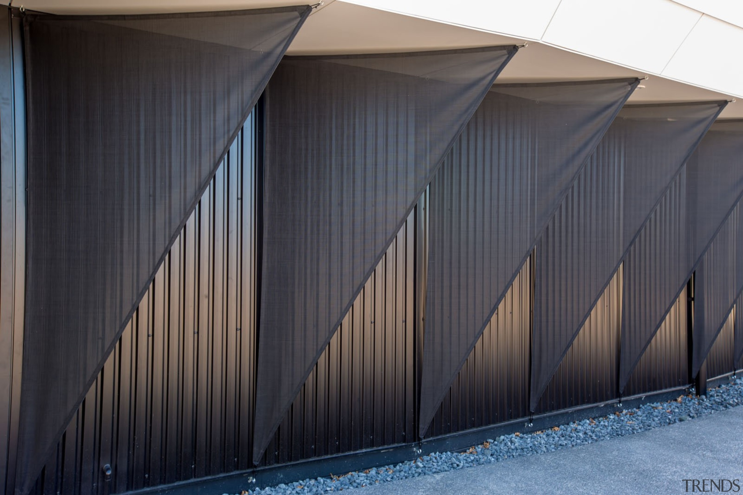Chrysalis-119 - Chrysalis 119 - architecture | building architecture, building, daylighting, facade, house, line, roof, shed, siding, sky, structure, wood, black, gray