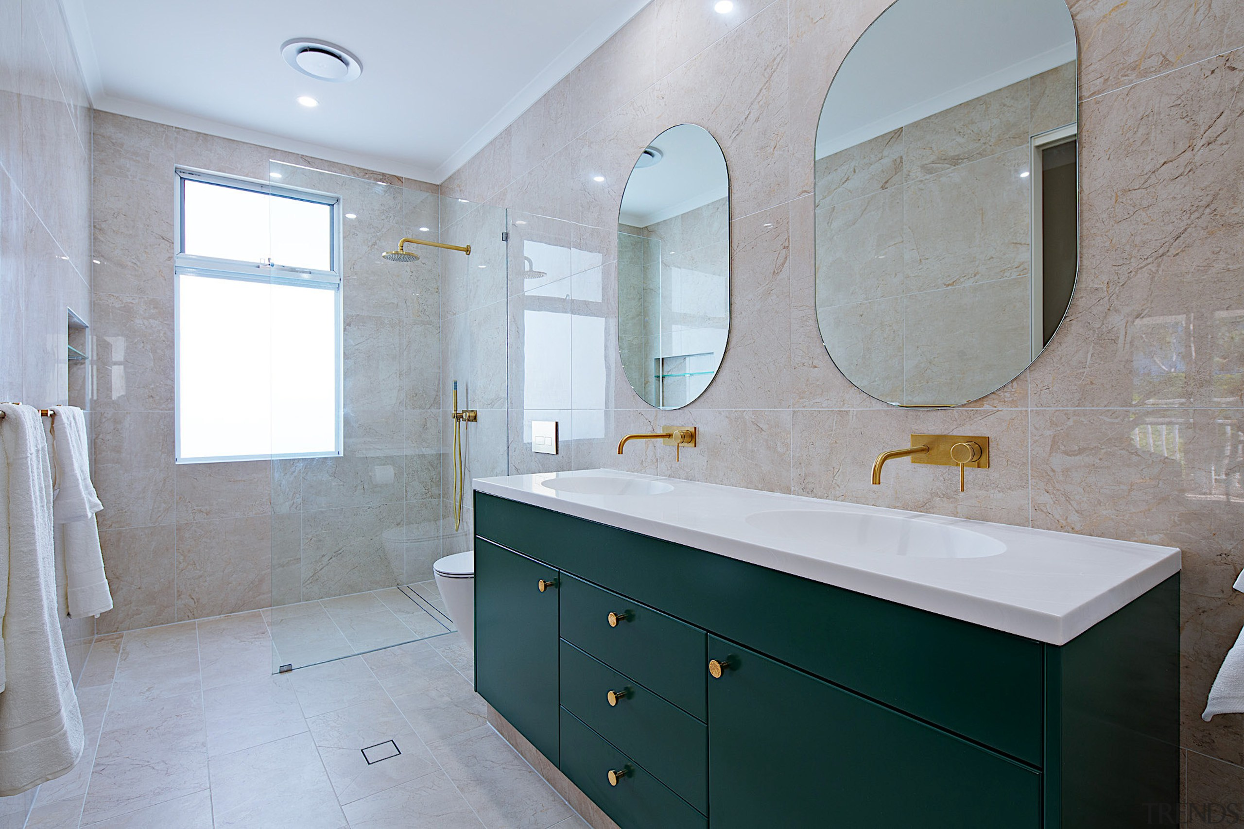 After removing the bathtub, this ensuite now feels