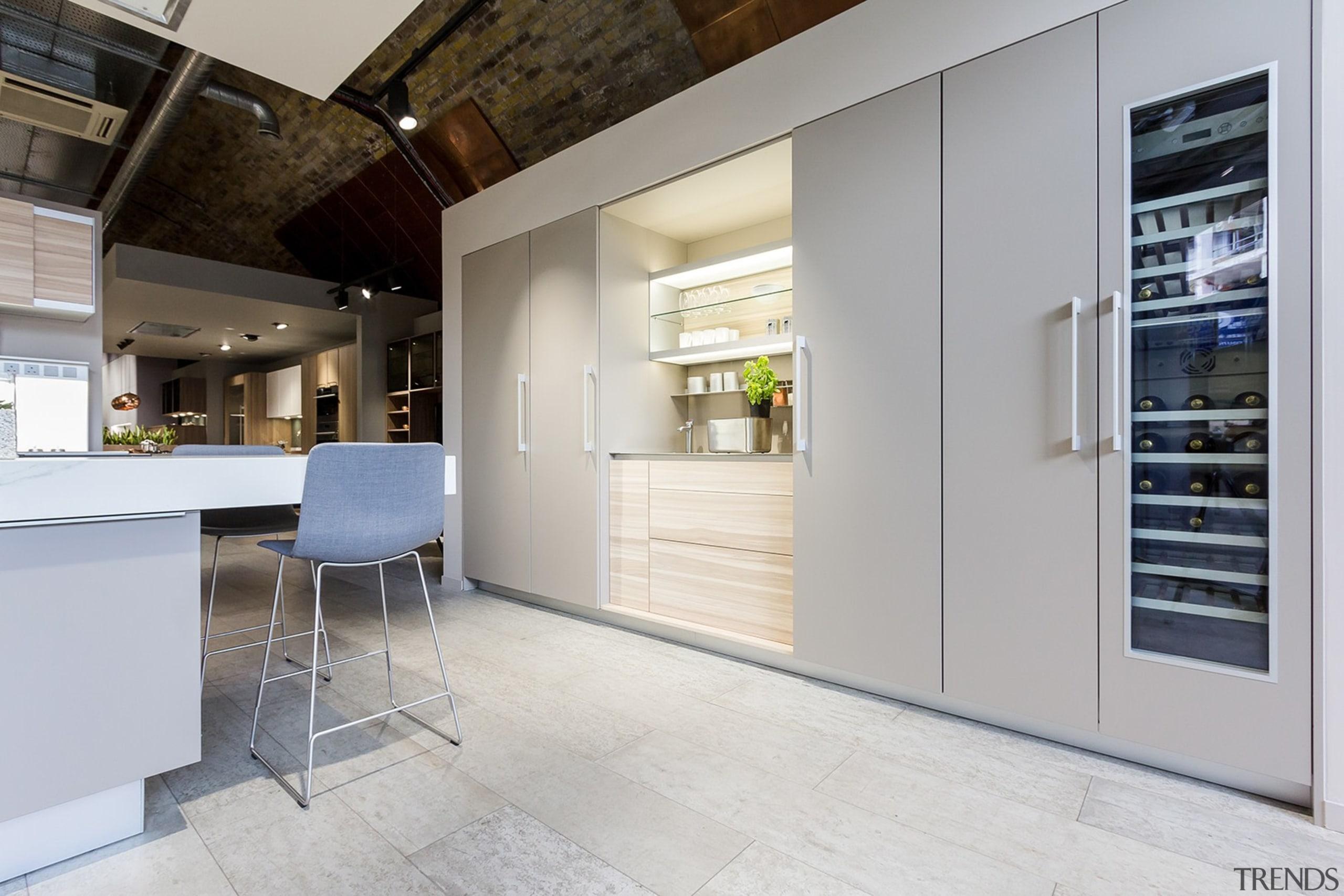 Concreate CF101 PoggenPohl 4 - Concreate_CF101_PoggenPohl_4 - floor floor, flooring, interior design, kitchen, real estate, gray