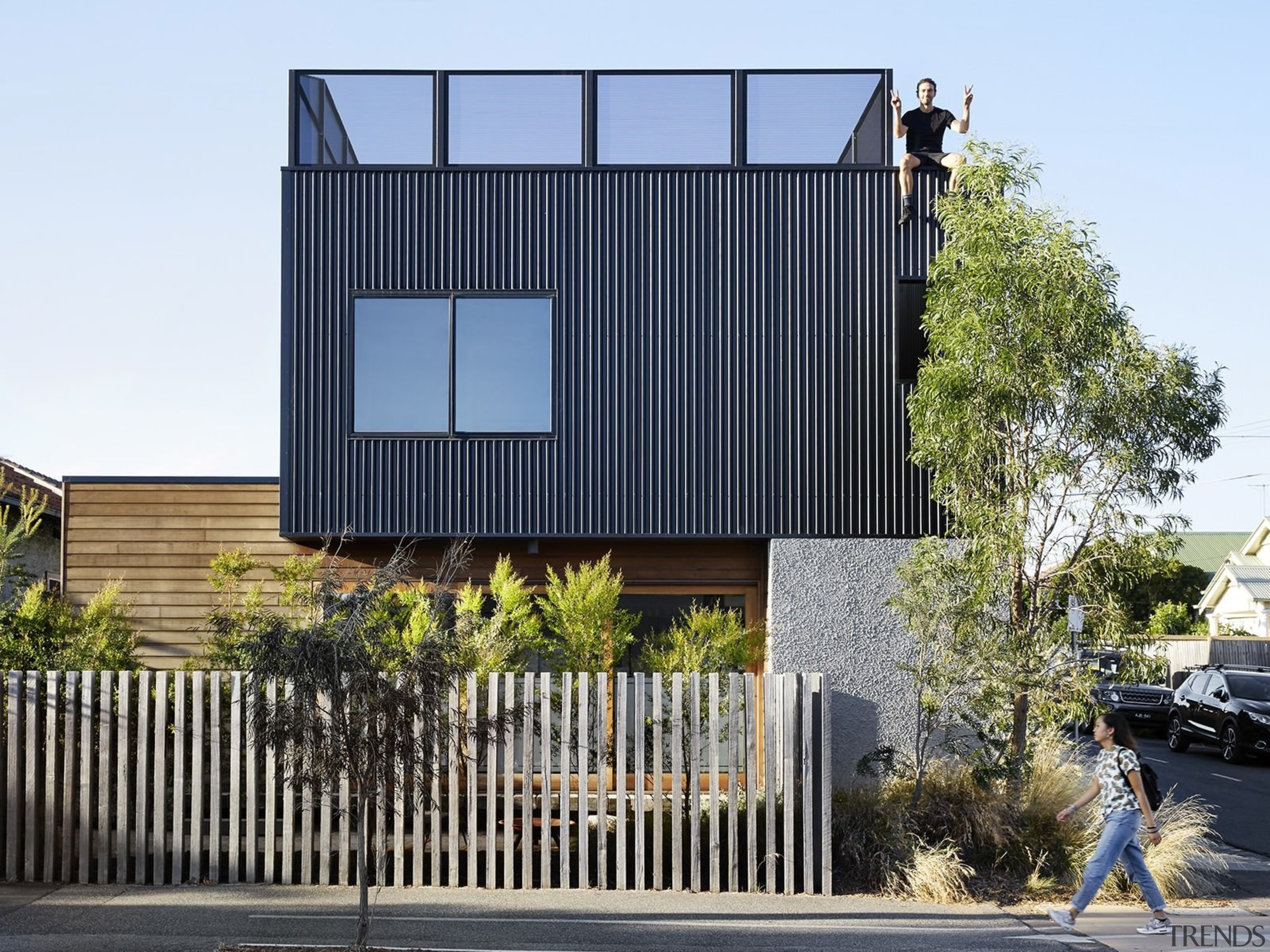 Architect: Liam WallisPhotography by Tess Kelly architecture, building, elevation, facade, home, house, property, real estate, residential area, white