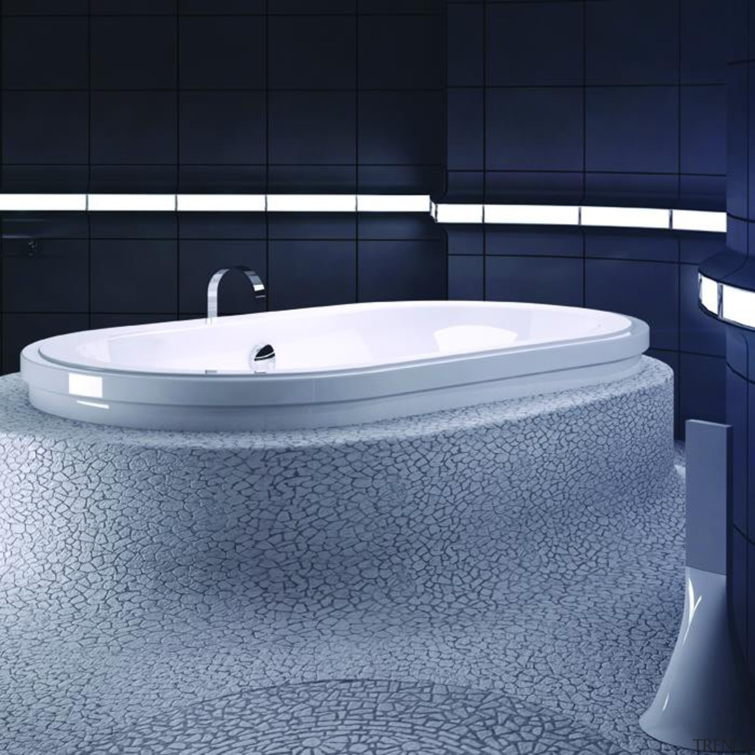 origami oval 7242 contour700x700.jpg - origami_oval_7242_contour700x700.jpg - angle angle, bathroom, bathroom sink, bathtub, floor, jacuzzi, plumbing fixture, product design, blue