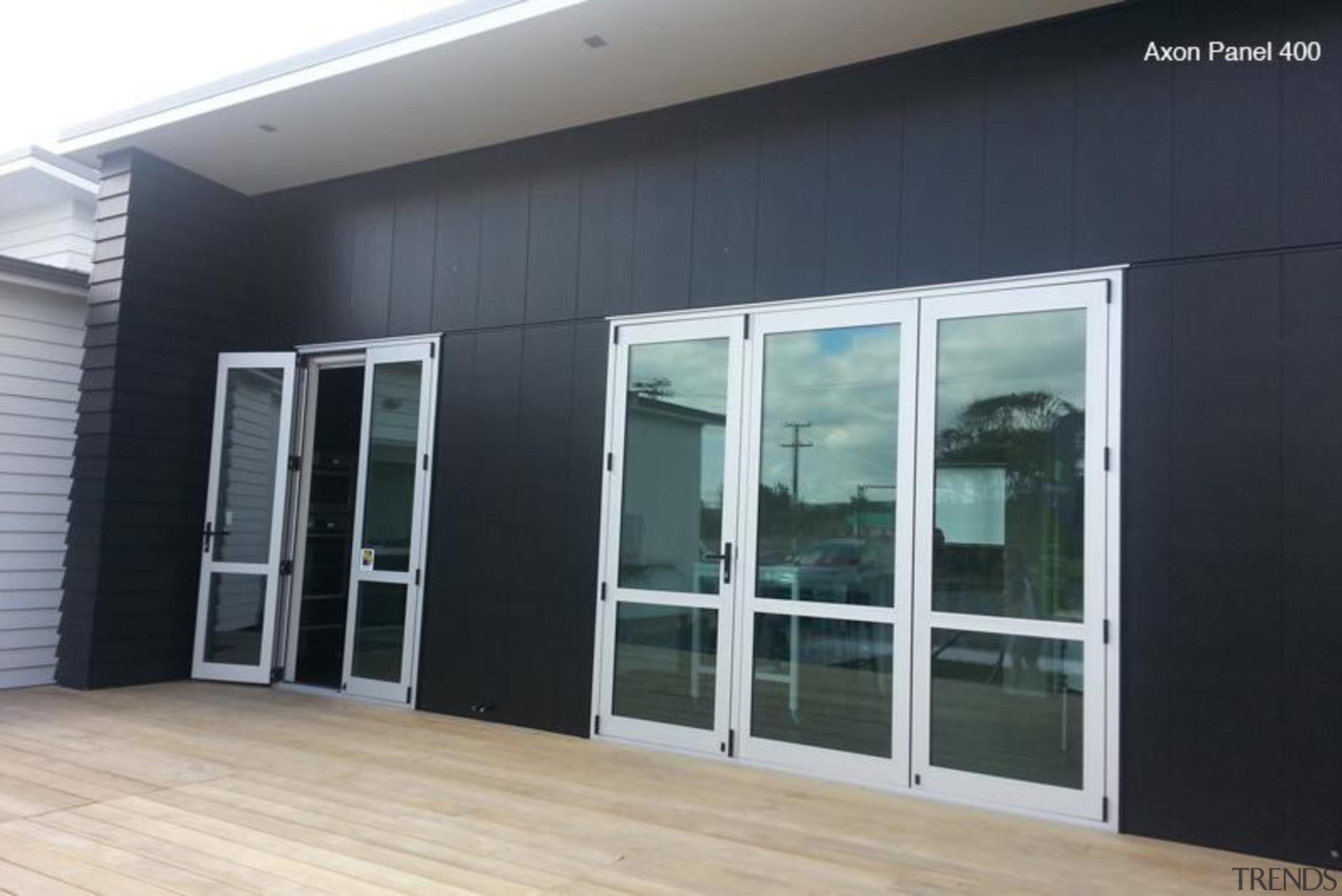 Axon Panel - Axon Panel - door | door, facade, glass, real estate, window, black, gray