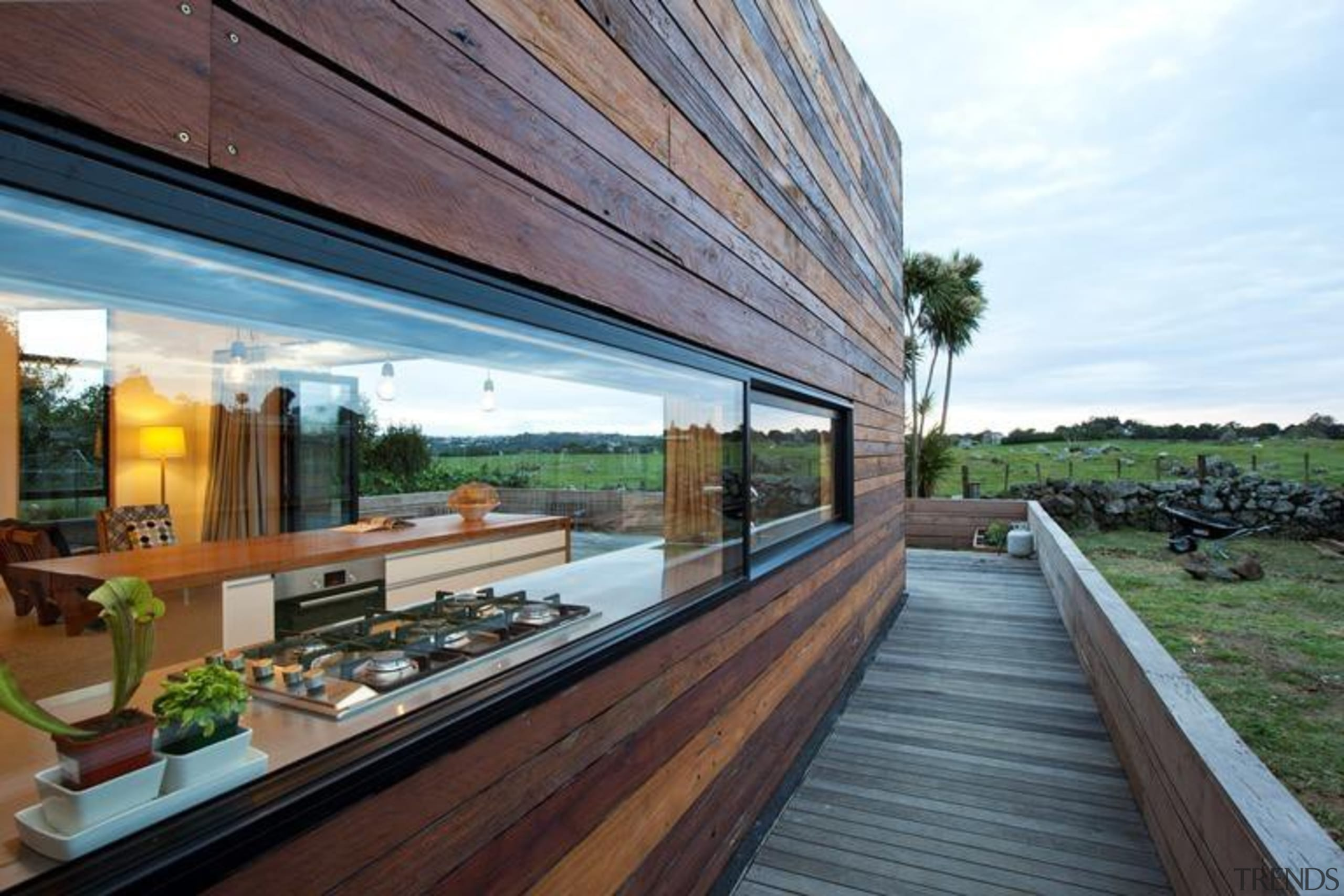 recycled timber cladding - recycled timber cladding - architecture, house, real estate, roof, gray