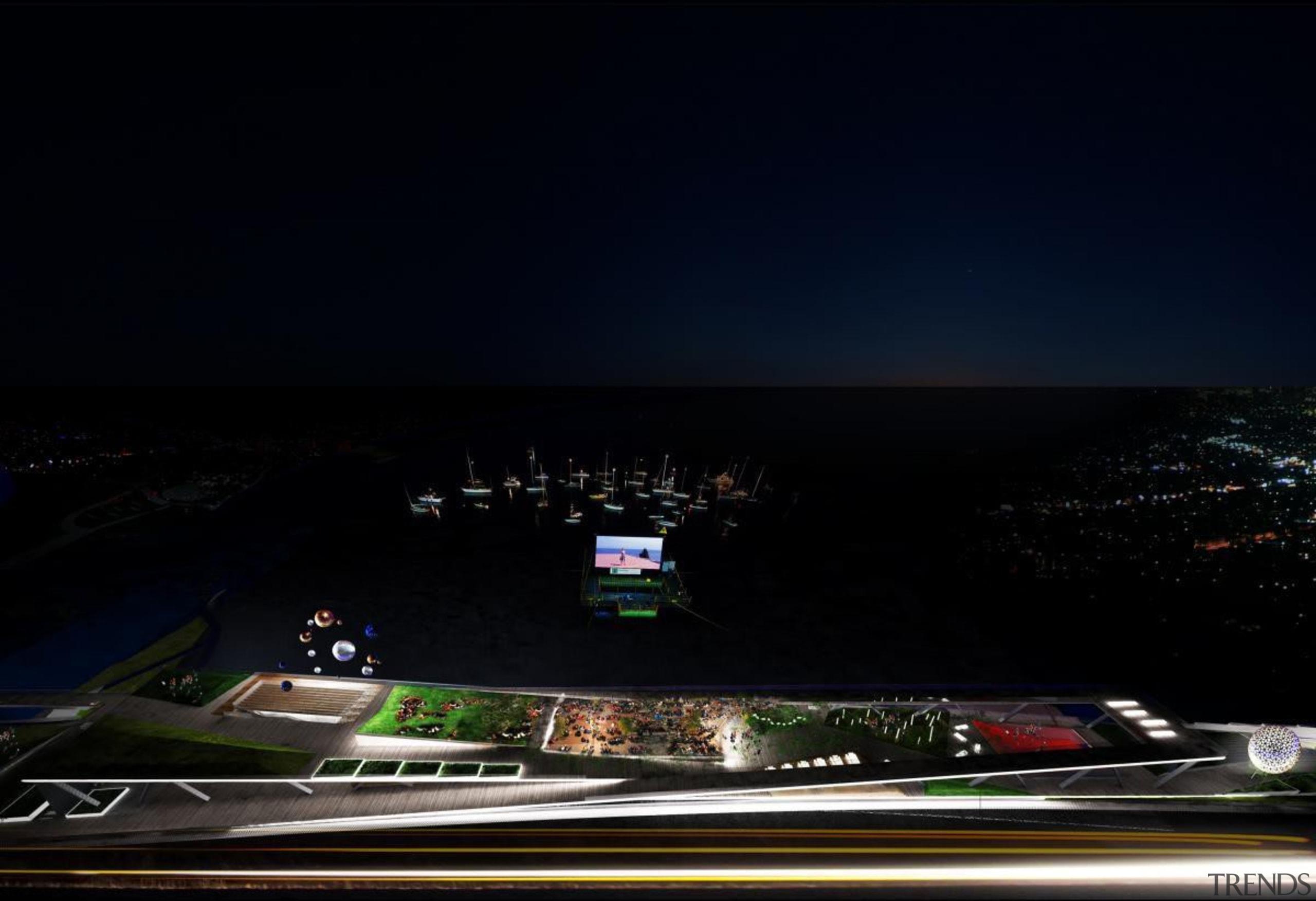 High line park - High line park - atmosphere, atmosphere of earth, automotive design, night, phenomenon, sky, black
