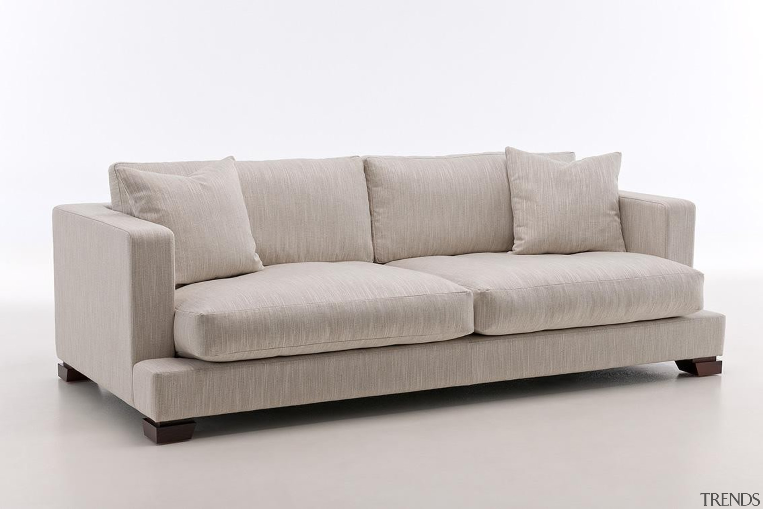 George Modular settee - George Modular settee - angle, couch, furniture, loveseat, product, sofa bed, studio couch, gray, white