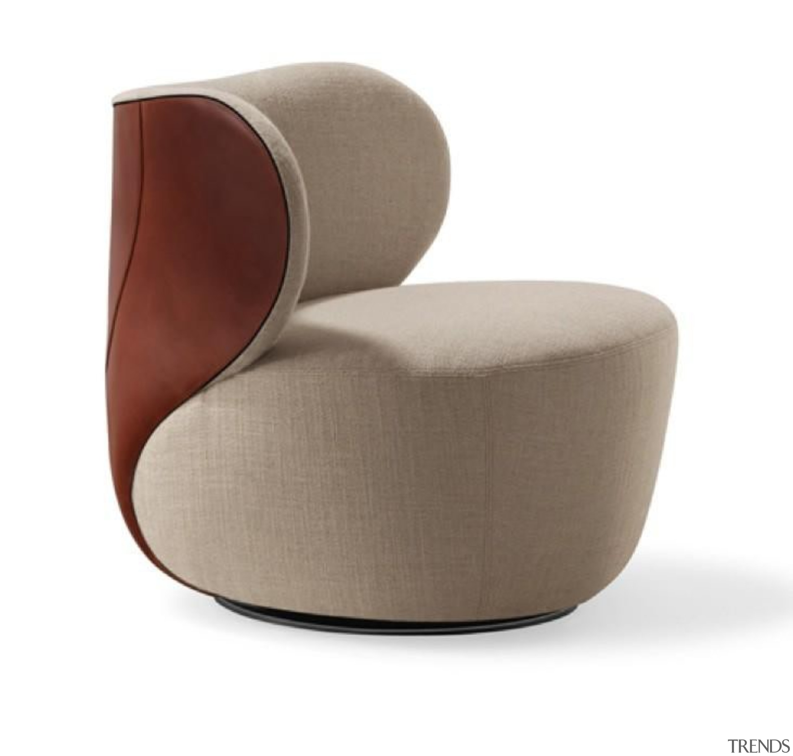 Walter Knoll- Bao Armchair Designed by EOOS. A angle, chair, furniture, product, product design, white