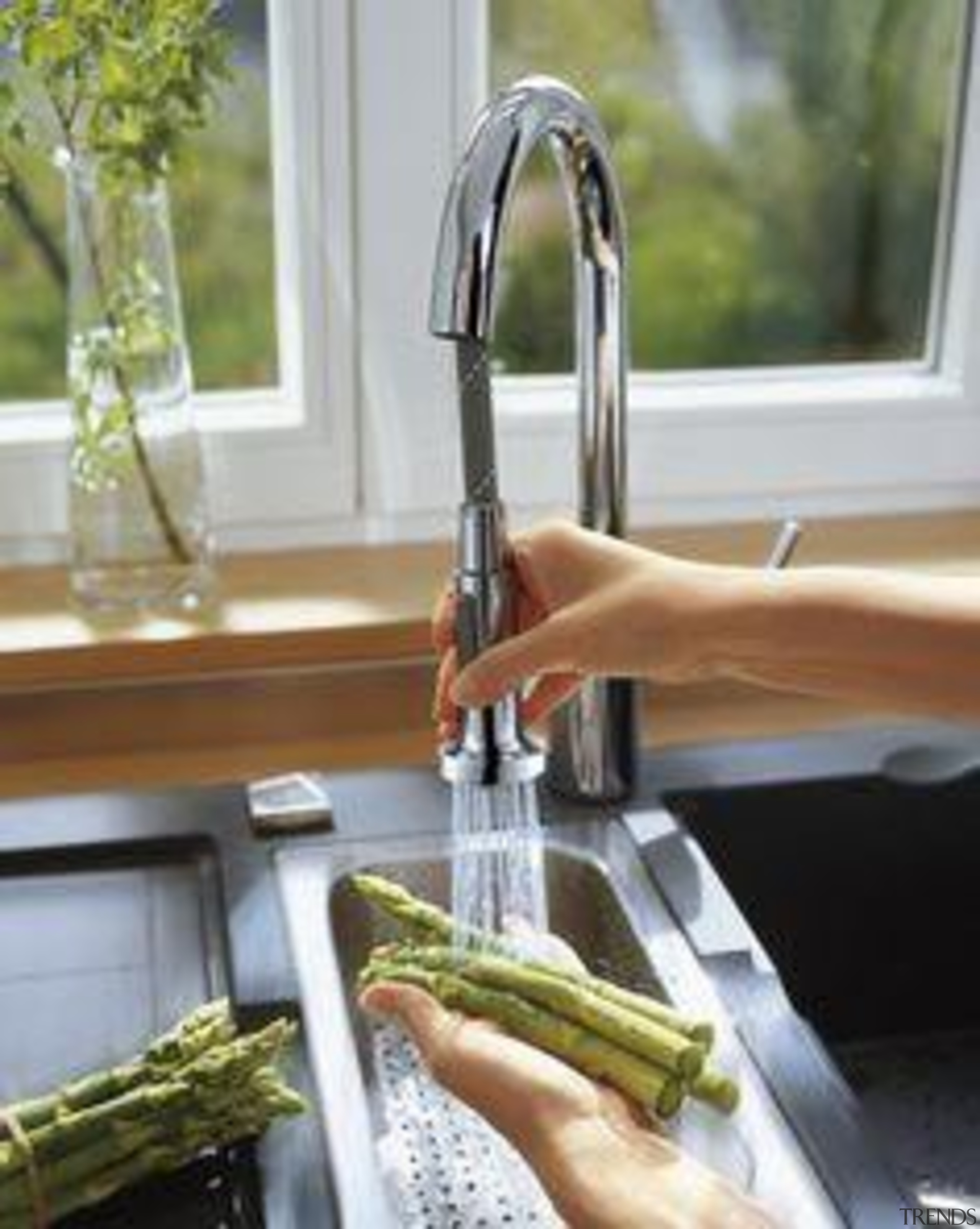 Hansgrohe Talis S2 Kitchen Mixer with Pull Out plumbing fixture, tap, water, gray