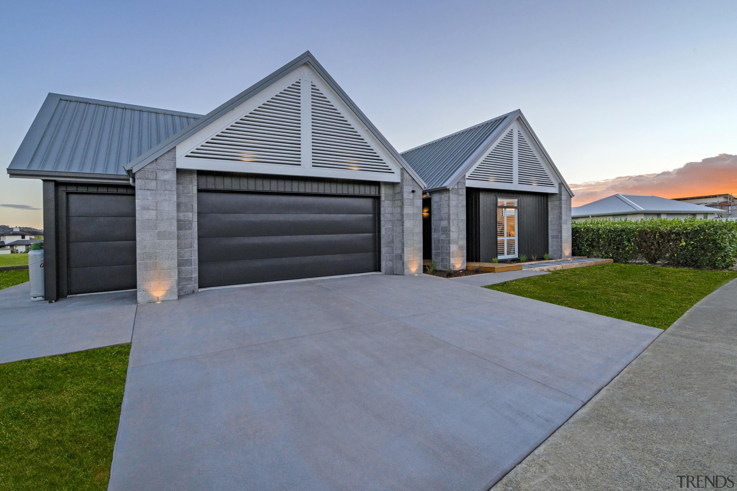 Landmark Homes often use popular Linea facings, and home, house, property, real estate, residential area, landmark homes, showhome, Coromandel, Linea cladding