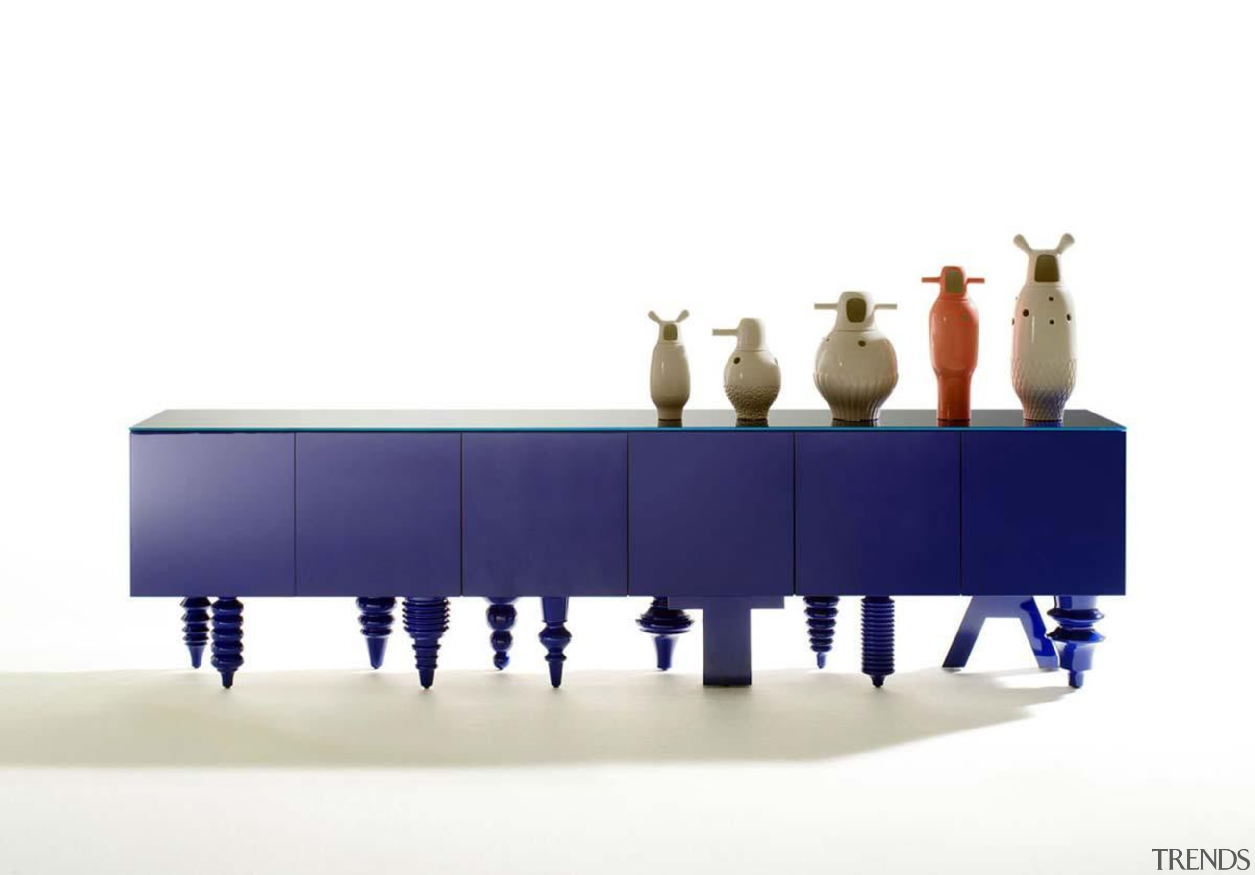 Multileg Cabinet by Hayon for BD-Barcelona - Multileg furniture, product, product design, table, white