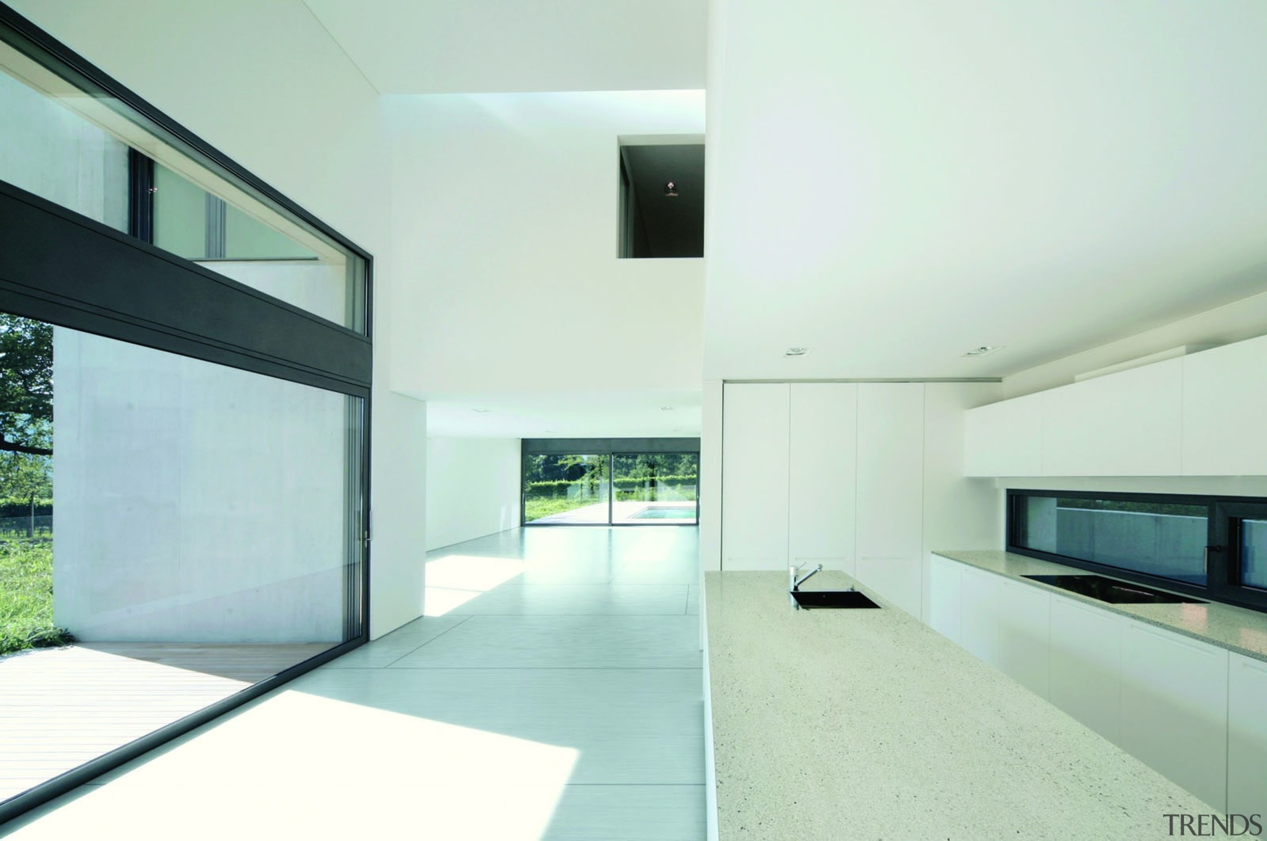 95197916 - Ariane - Strato 2013 - 95197916 architecture, ceiling, daylighting, estate, floor, glass, home, house, interior design, property, real estate, window, white