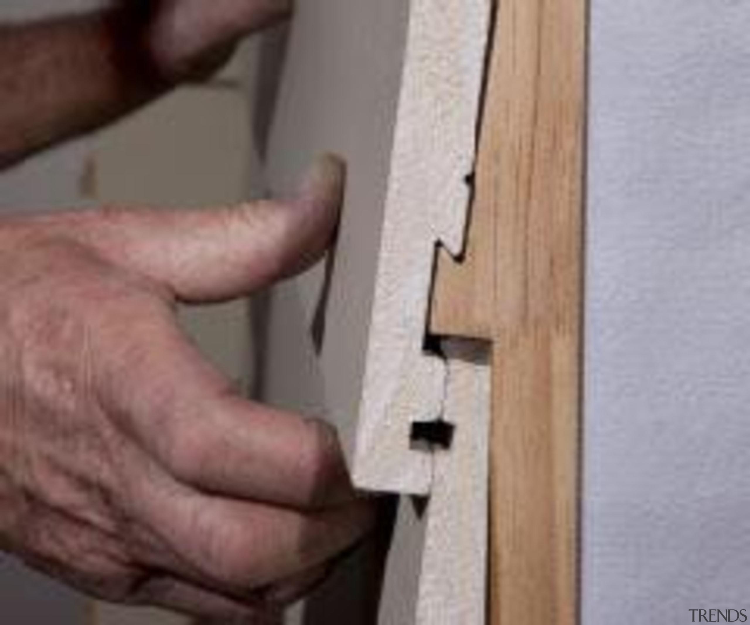 A-lign Concealed Fix - A-lign Concealed Fix - angle, wood, gray
