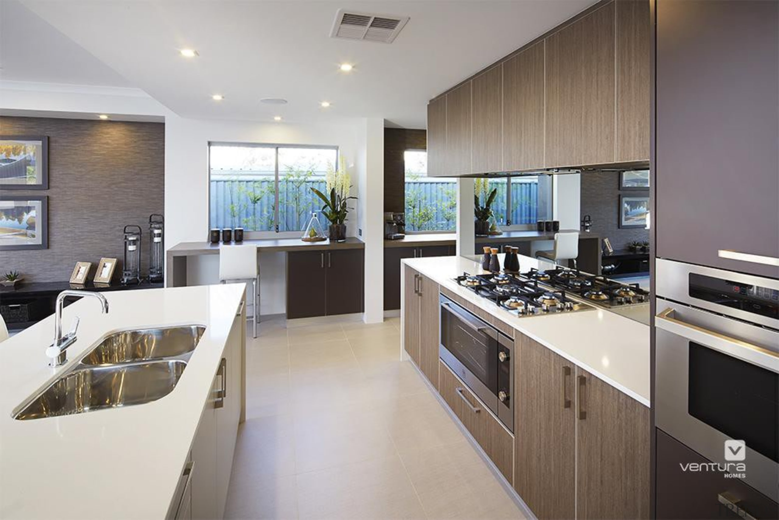 Kitchen design. - The Lexington Two Storey Display countertop, interior design, kitchen, real estate, gray