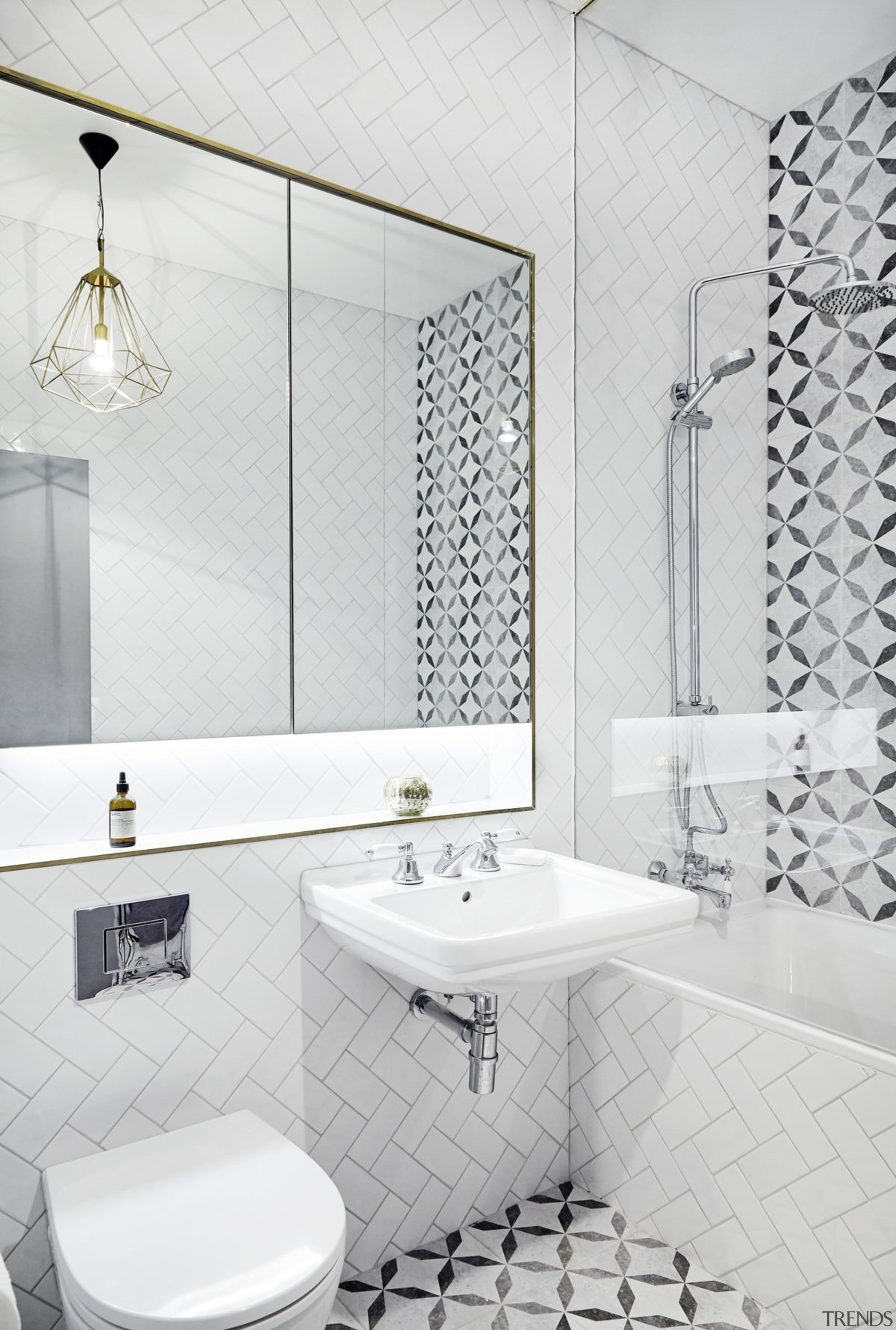 Elements of the old can be found in bathroom, bathroom accessory, ceramic, floor, interior design, plumbing fixture, product design, room, tap, tile, wall, white