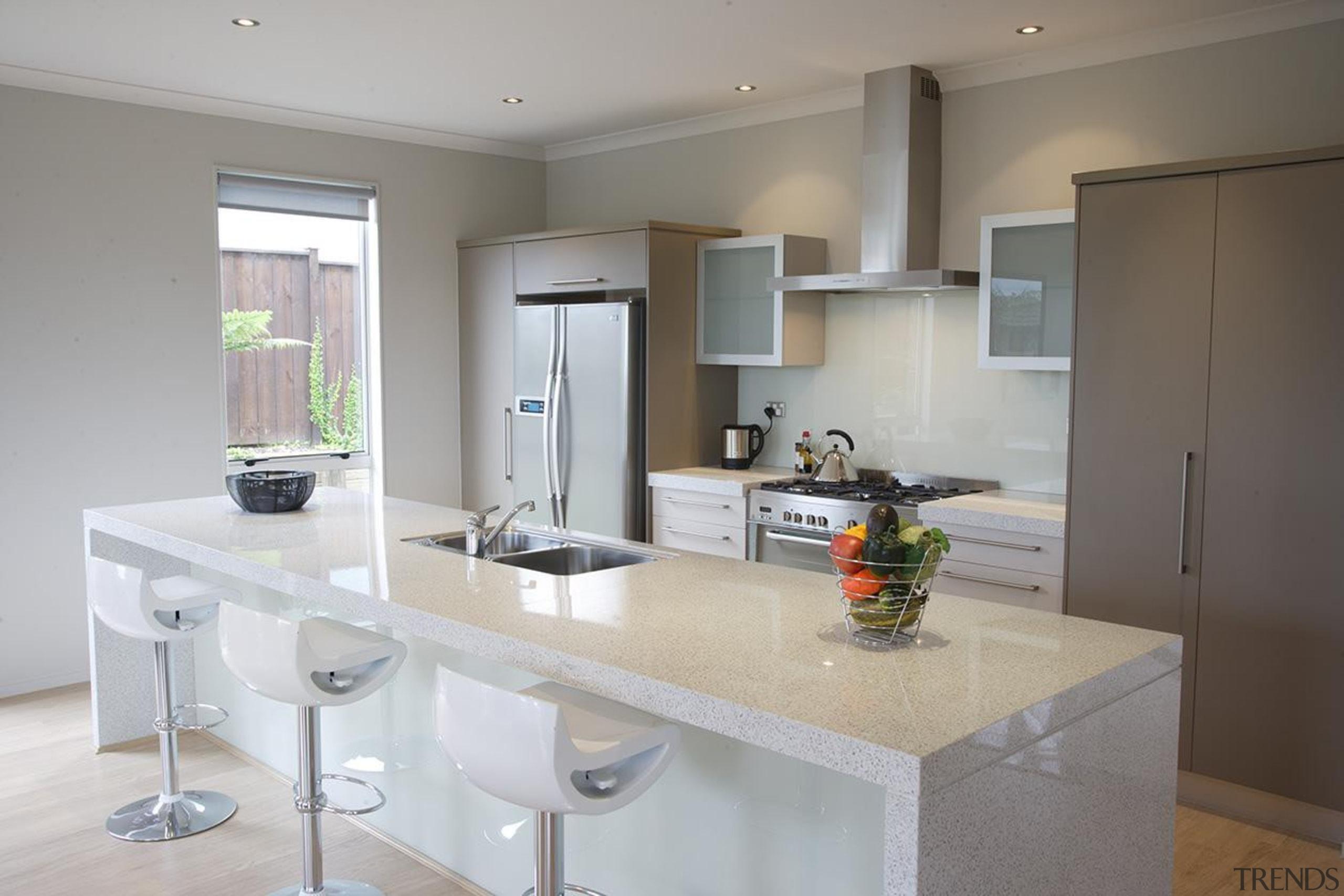 For more information, please visit www.gjgardner.co.nz countertop, cuisine classique, interior design, kitchen, real estate, room, gray