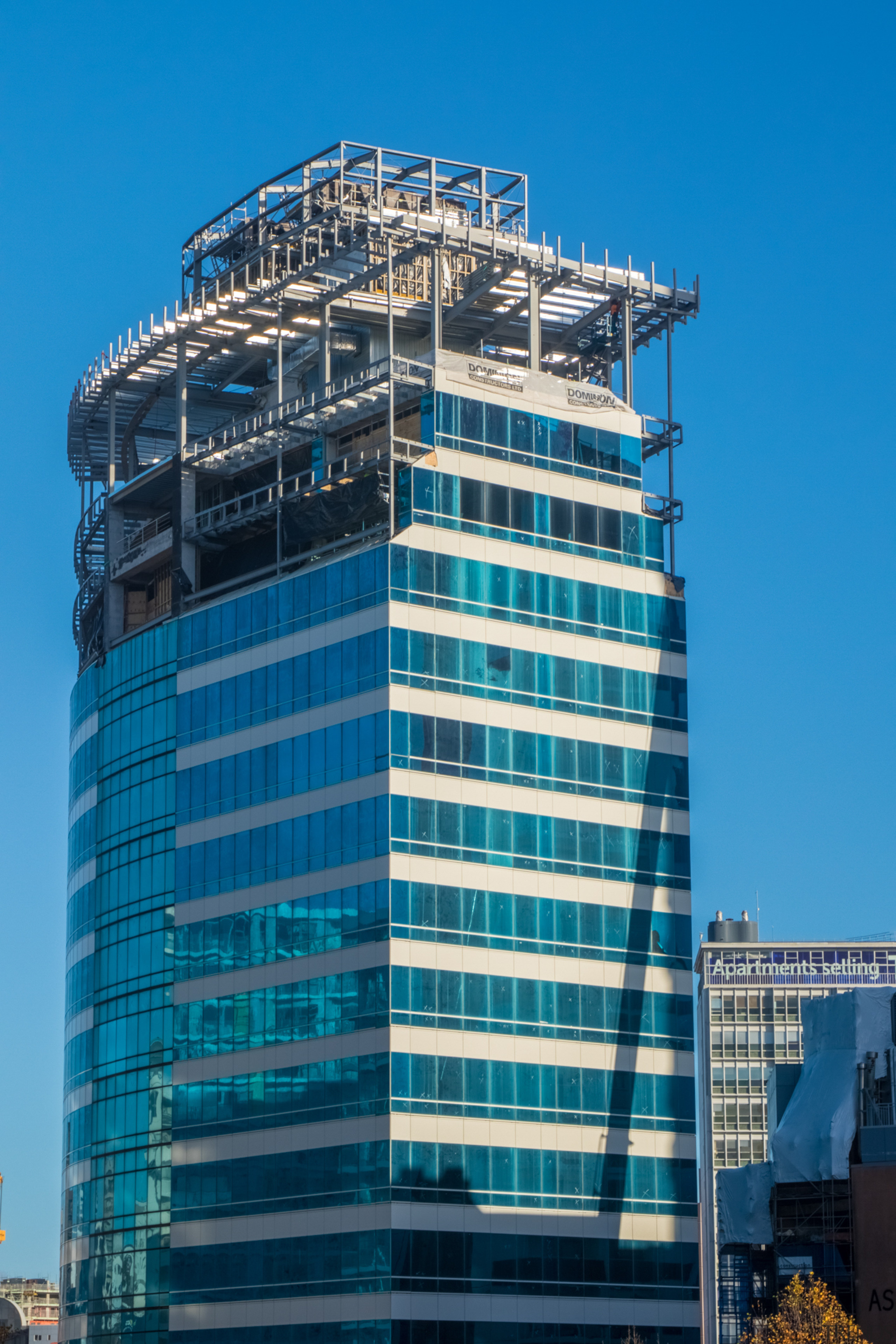 Dominion Constructors undertook the conversion of office block Hotel, architecture, building, city, Dominion Constructors, Russell Property Group, Four Points Sheraton