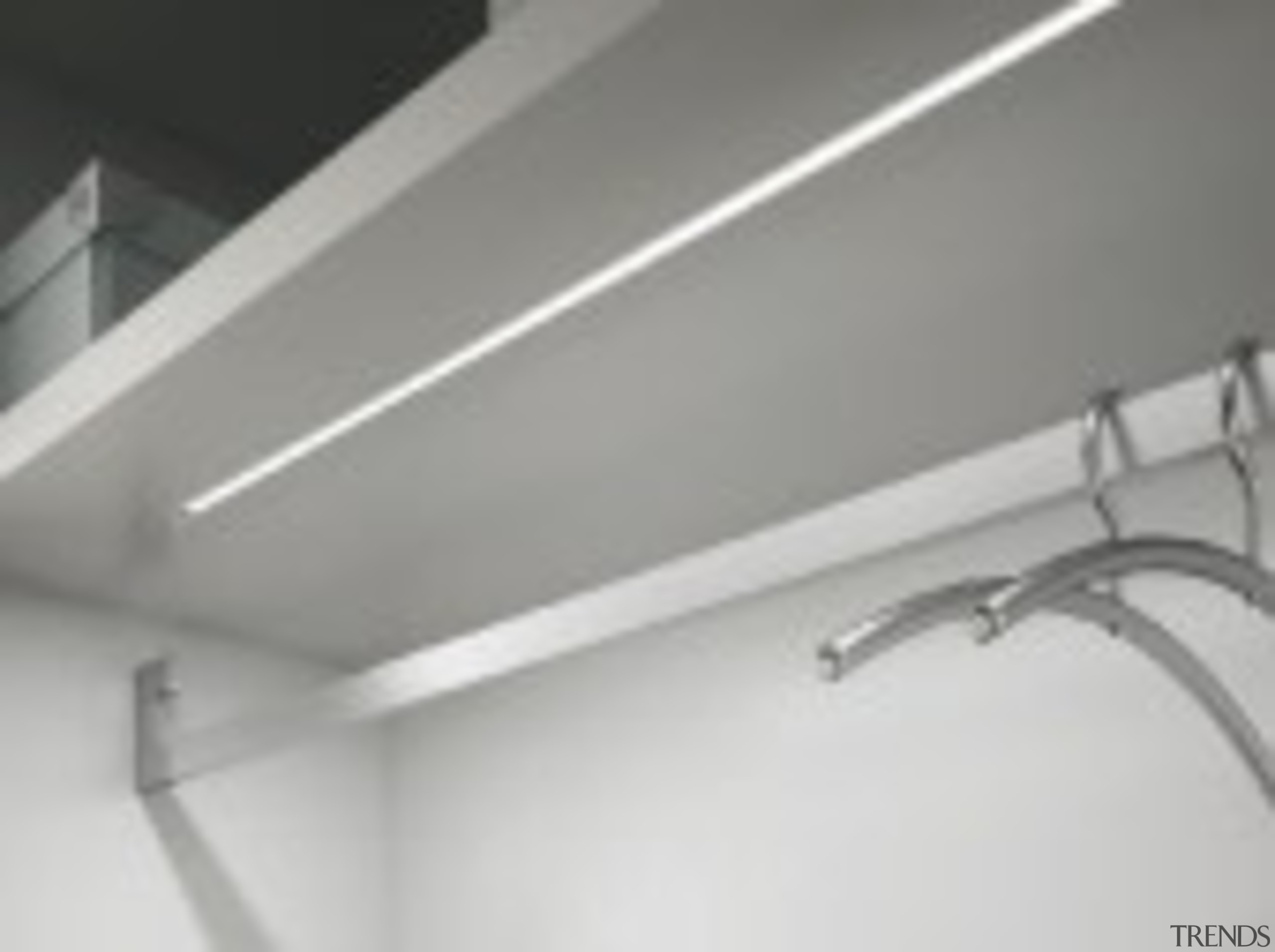 Domus Line String LED Profile Designed in Italy to angle, black and white, ceiling, lighting, product, product design, gray