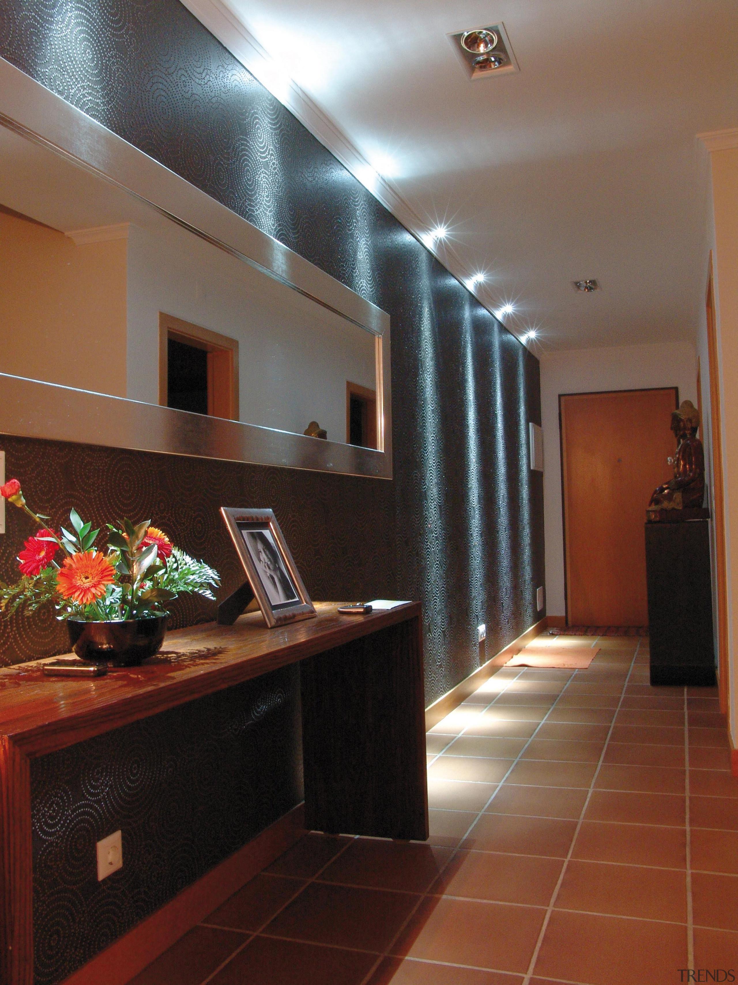 LED Lights - ceiling | floor | flooring ceiling, floor, flooring, home, interior design, lighting, lobby, room, wall, brown, red