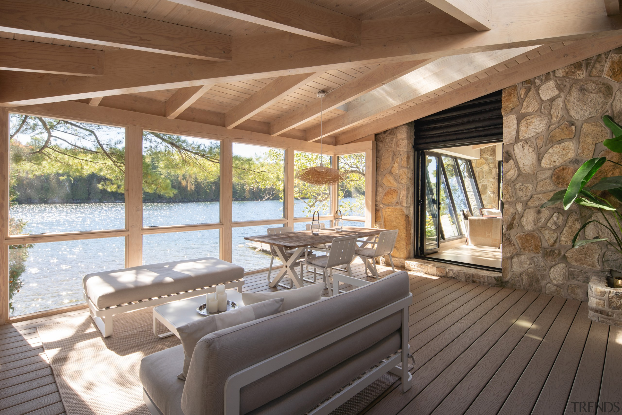 From cottage to scenic lakeside home -