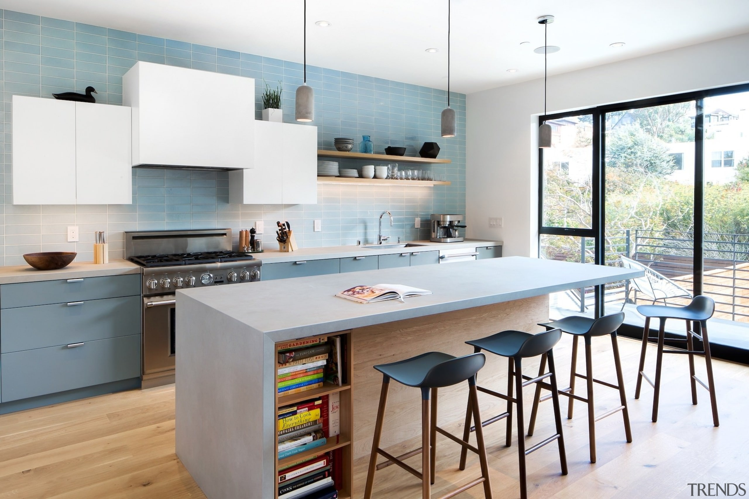 It's the perfect kitchen for a growing family countertop, cuisine classique, interior design, kitchen, table, white