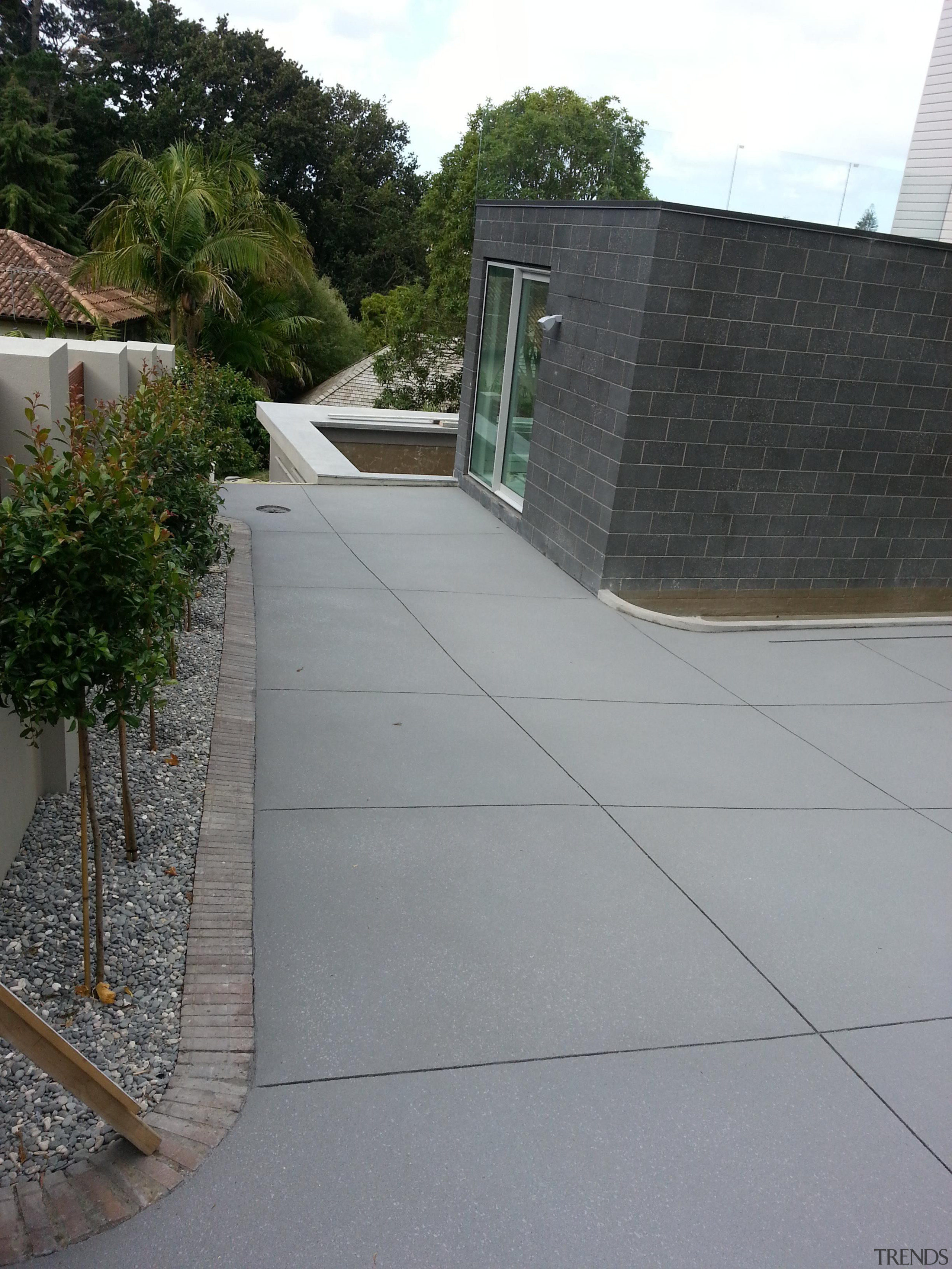 Colourmix 39 - Colourmix_39 - architecture | asphalt architecture, asphalt, driveway, house, outdoor structure, property, real estate, residential area, road surface, roof, walkway, wall, gray
