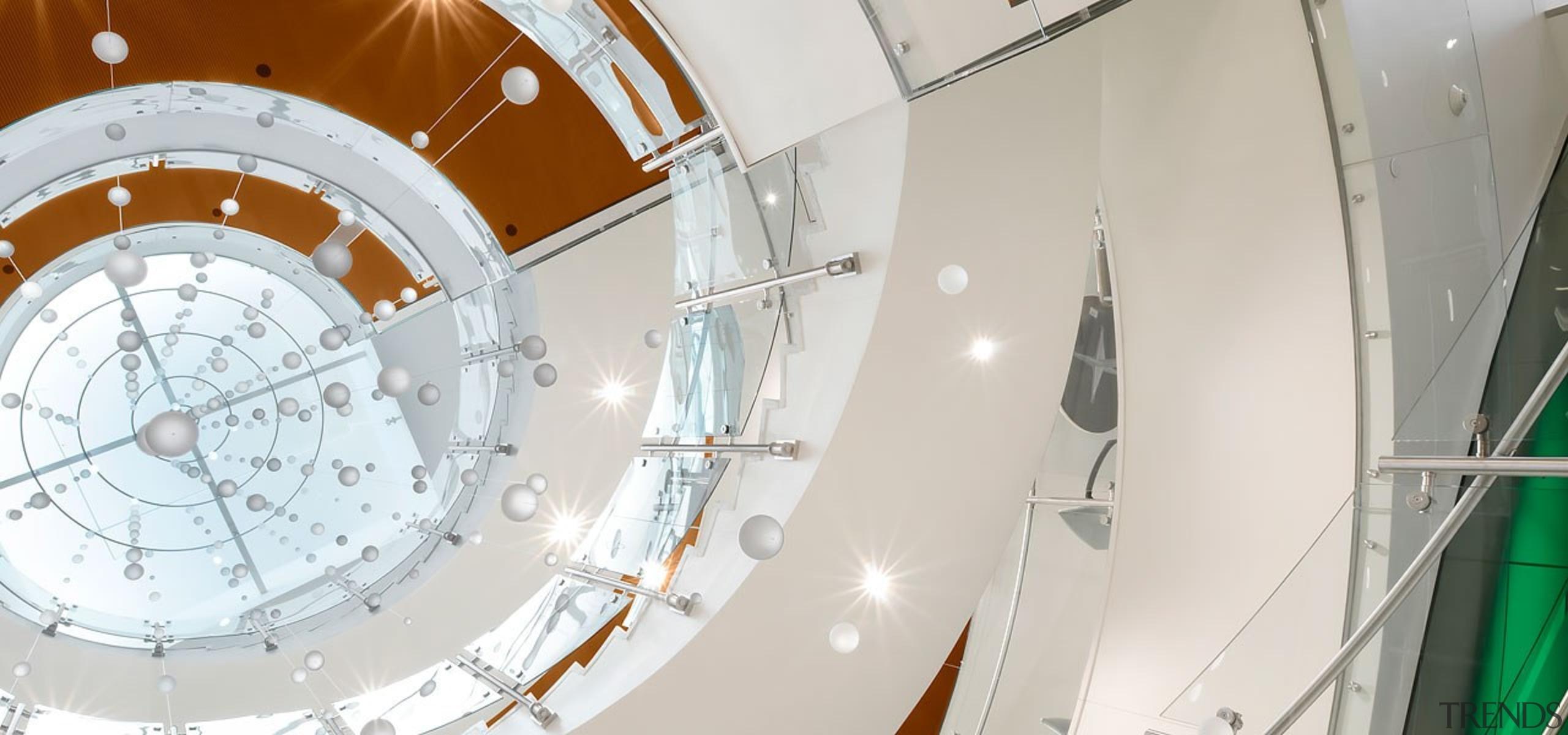 Colorado State University2 - architecture   ceiling   architecture, ceiling, circle, daylighting, stairs, white, white