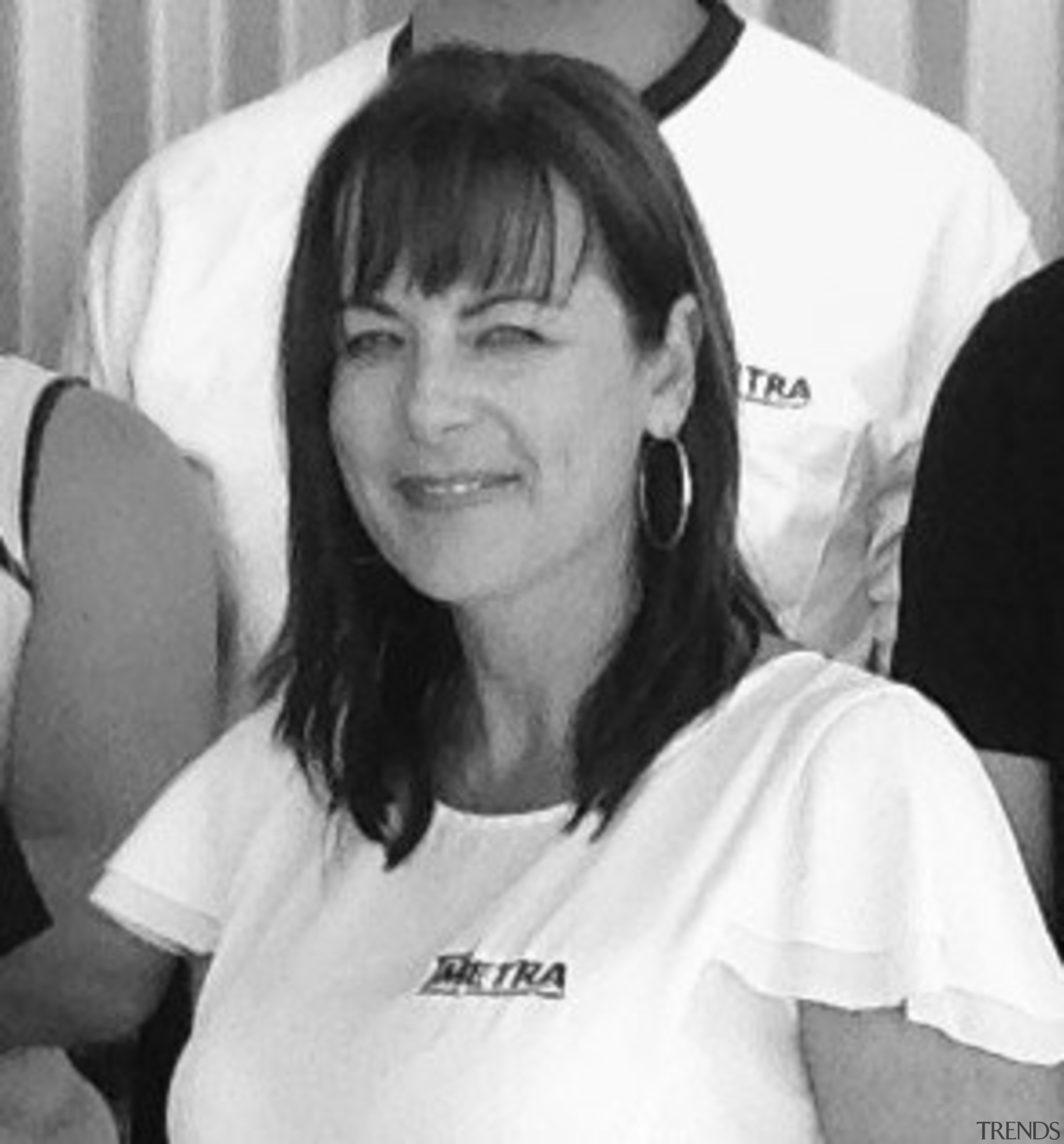 Metrapanel business manager Melissa Savage is an advocate black and white, black hair, chin, cool, ear, forehead, girl, hairstyle, monochrome, monochrome photography, mouth, neck, organ, person, product, smile, white, white