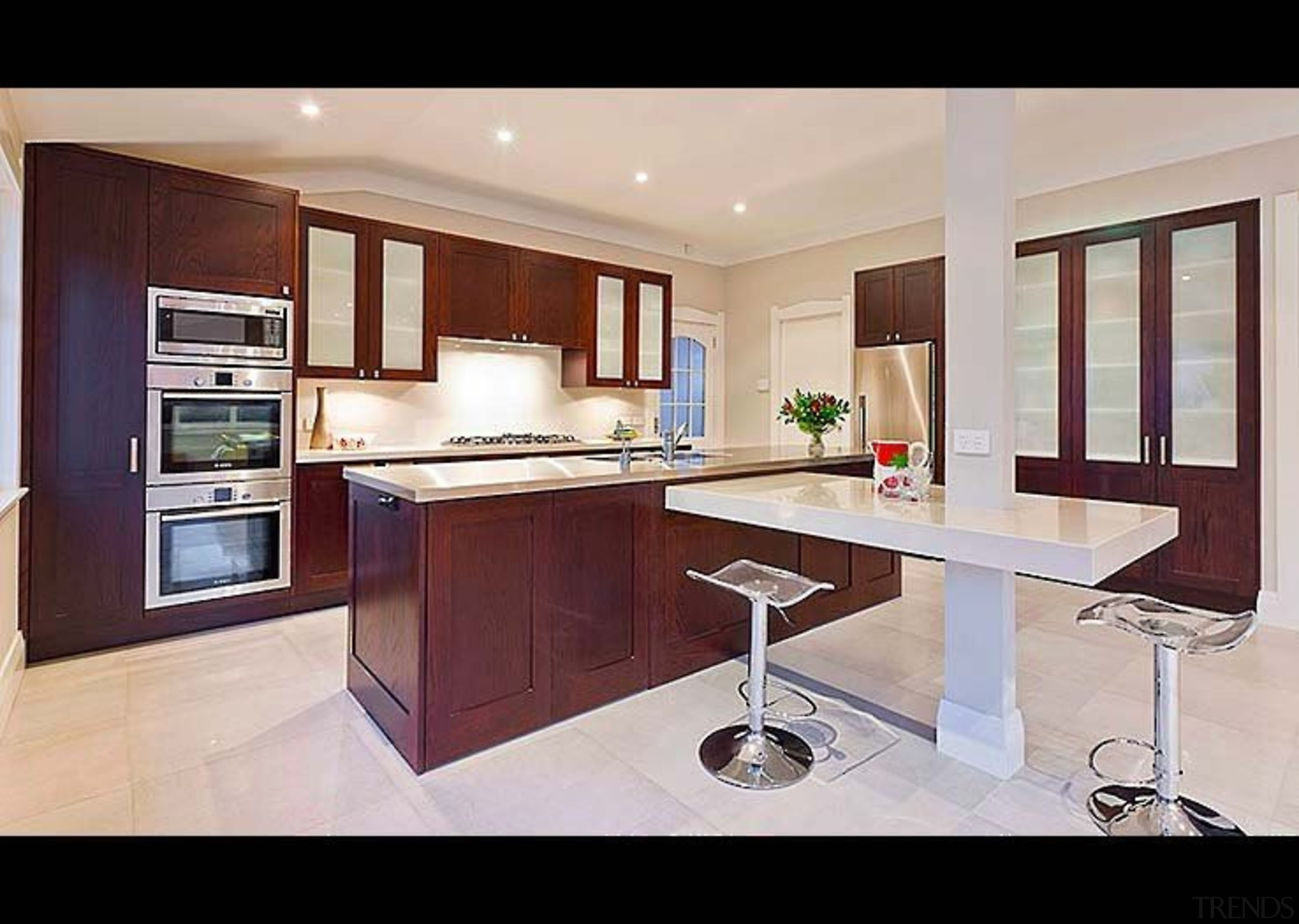 A Modern Twist - cabinetry   countertop   cabinetry, countertop, cuisine classique, furniture, interior design, kitchen, property, real estate, room, gray