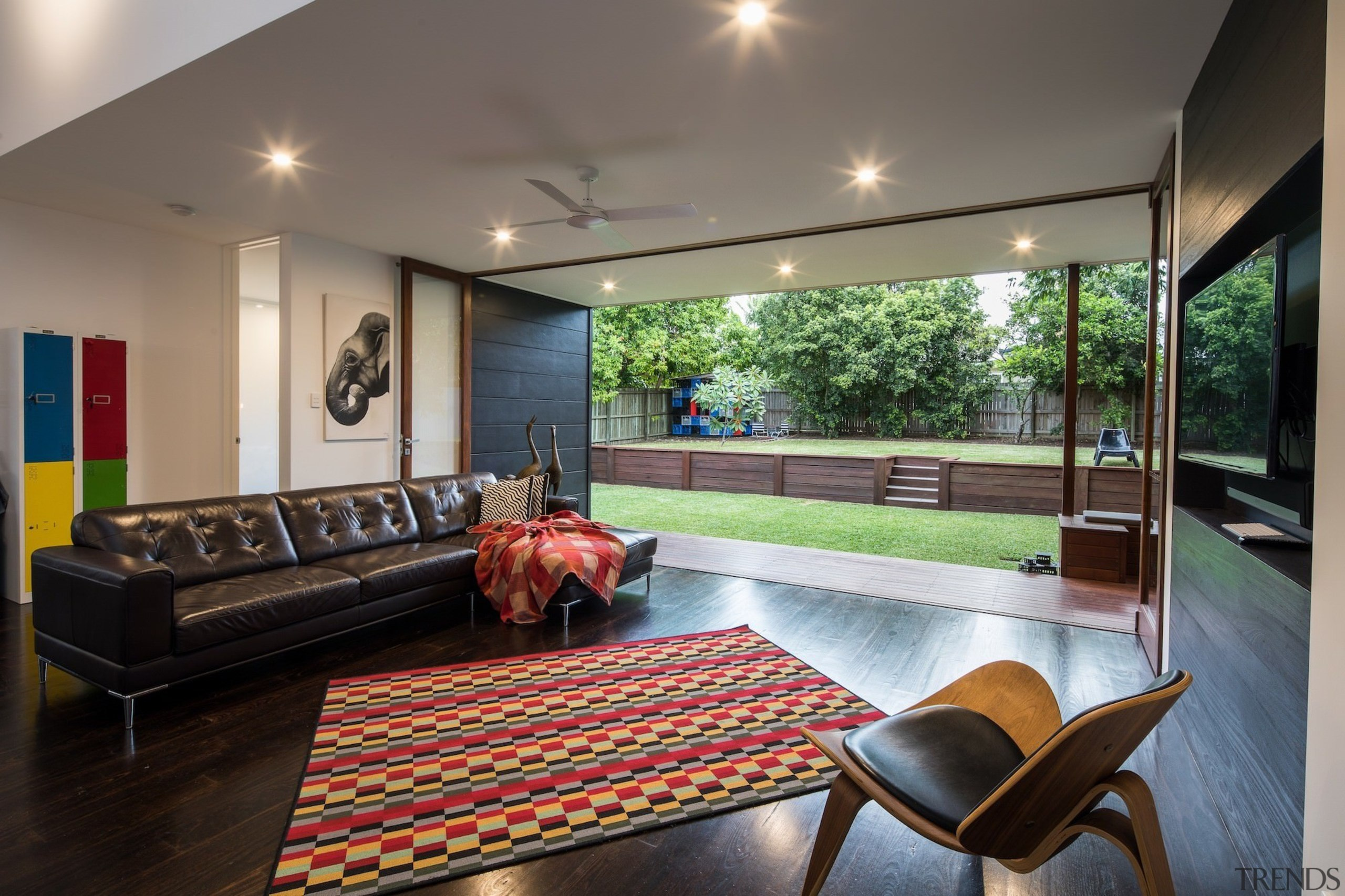 Architect: Blue Giraffe StudioPhotography by md photography architecture, ceiling, estate, house, interior design, living room, real estate, window, gray, black