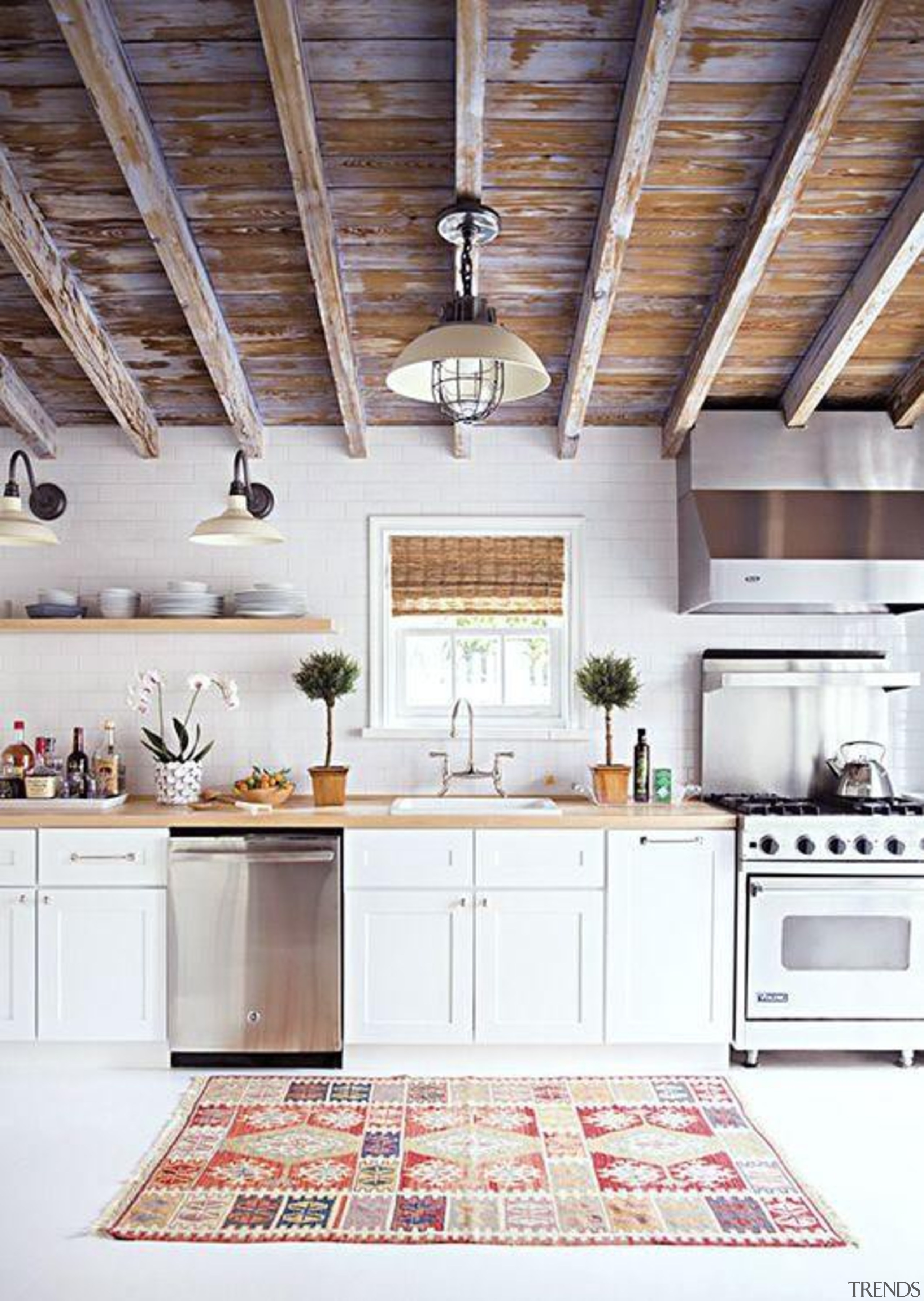Start a myTrends ProjectCreate an ideas hub for ceiling, countertop, cuisine classique, floor, home, interior design, kitchen, room, white, gray